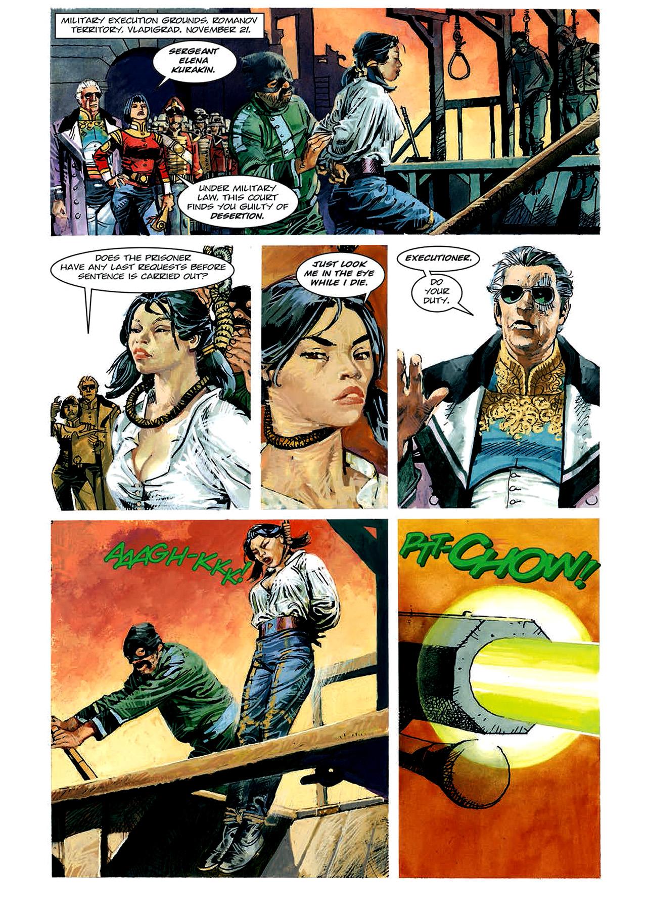 Read online Nikolai Dante comic -  Issue # TPB 4 - 81
