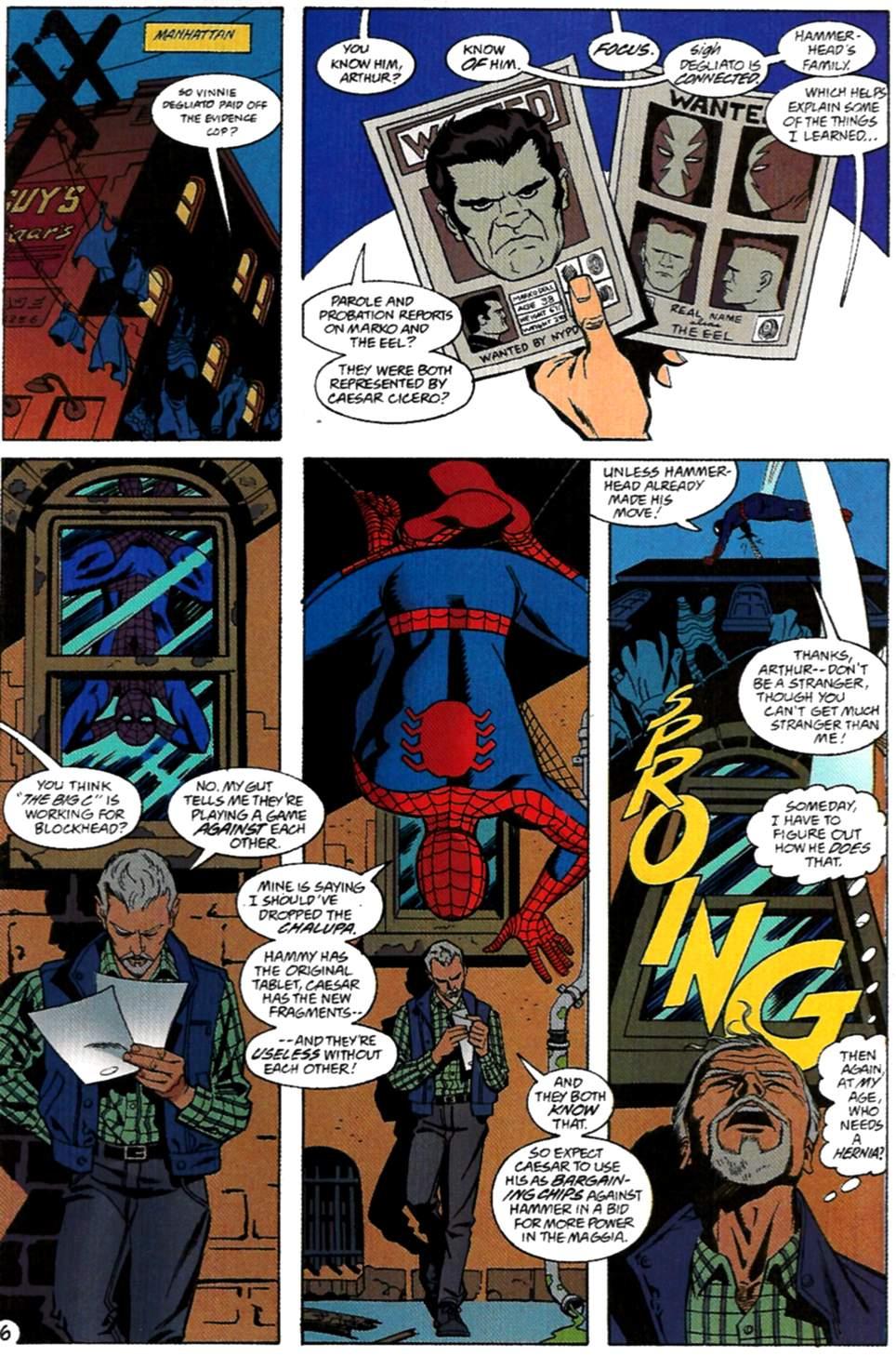Read online Spider-Man: Lifeline comic -  Issue #2 - 7
