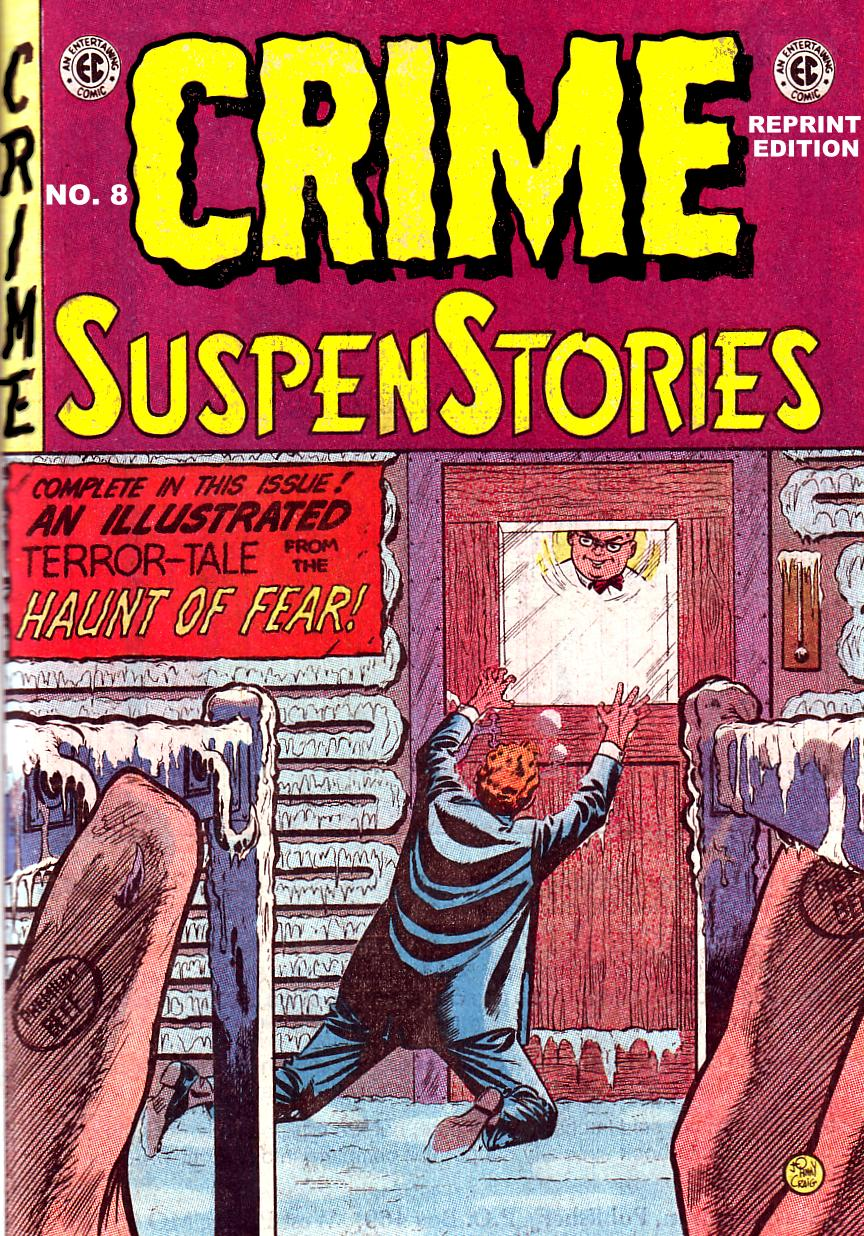 Crime SuspenStories 8 Page 1