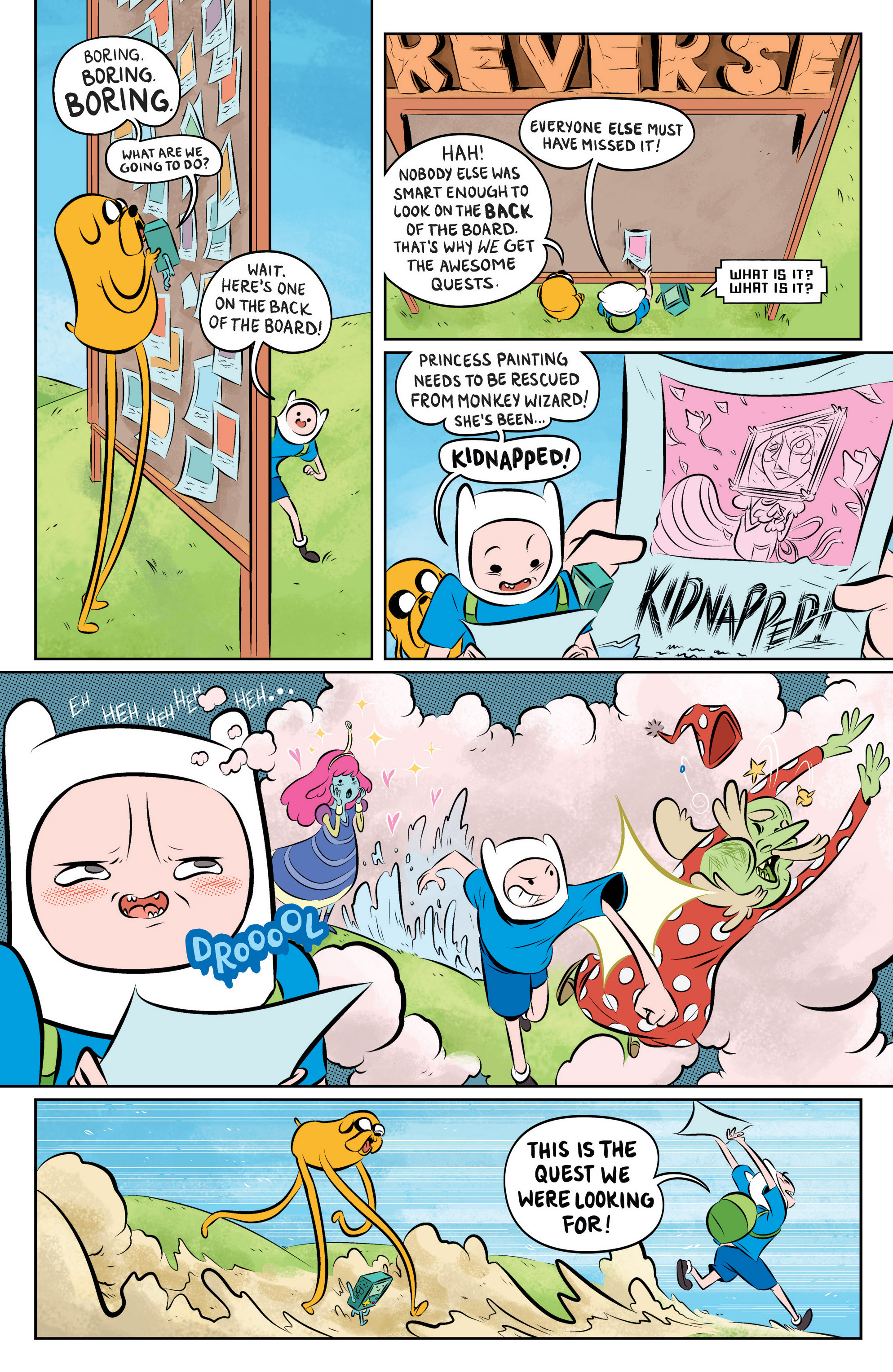Read online Adventure Time: The Flip Side comic -  Issue #1 - 11