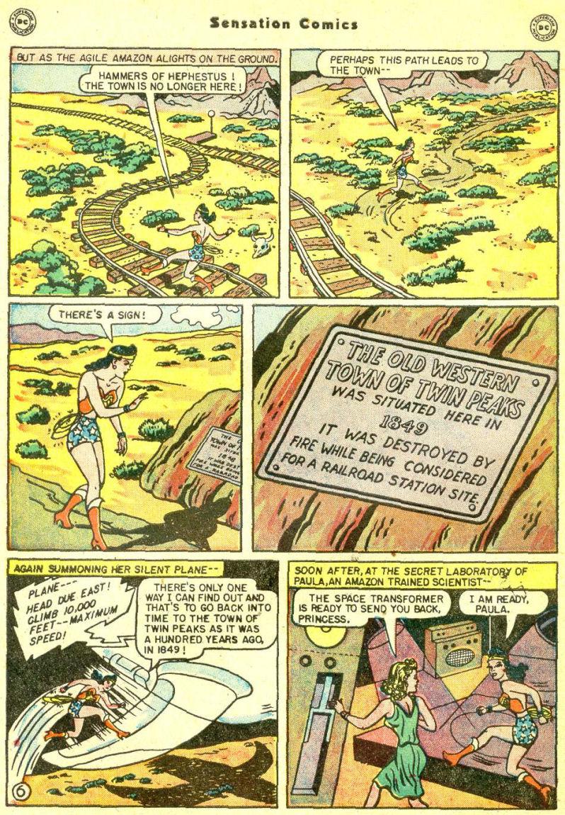 Read online Sensation (Mystery) Comics comic -  Issue #87 - 8