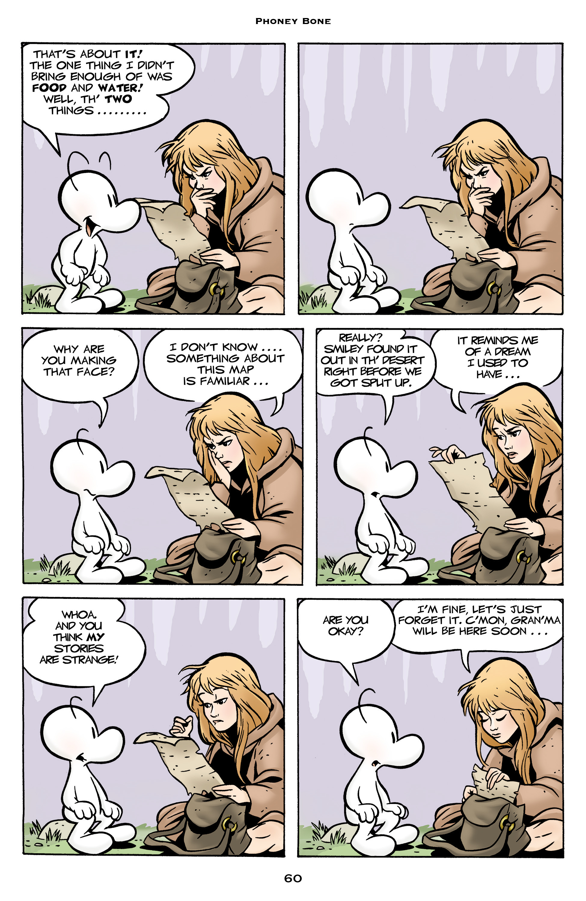 Read online Bone: Out From Boneville comic -  Issue # TPB - 60