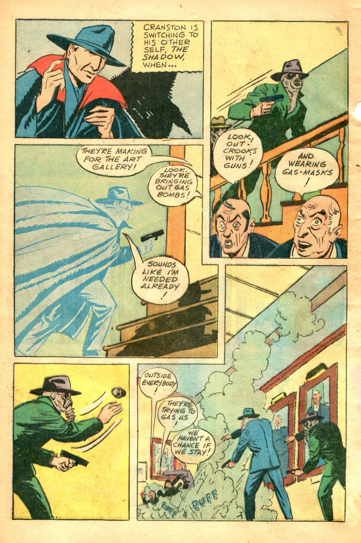 Read online Shadow Comics comic -  Issue #47 - 7
