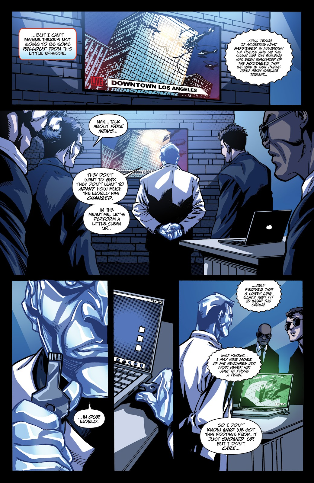 Read online Accell comic -  Issue #19 - 20