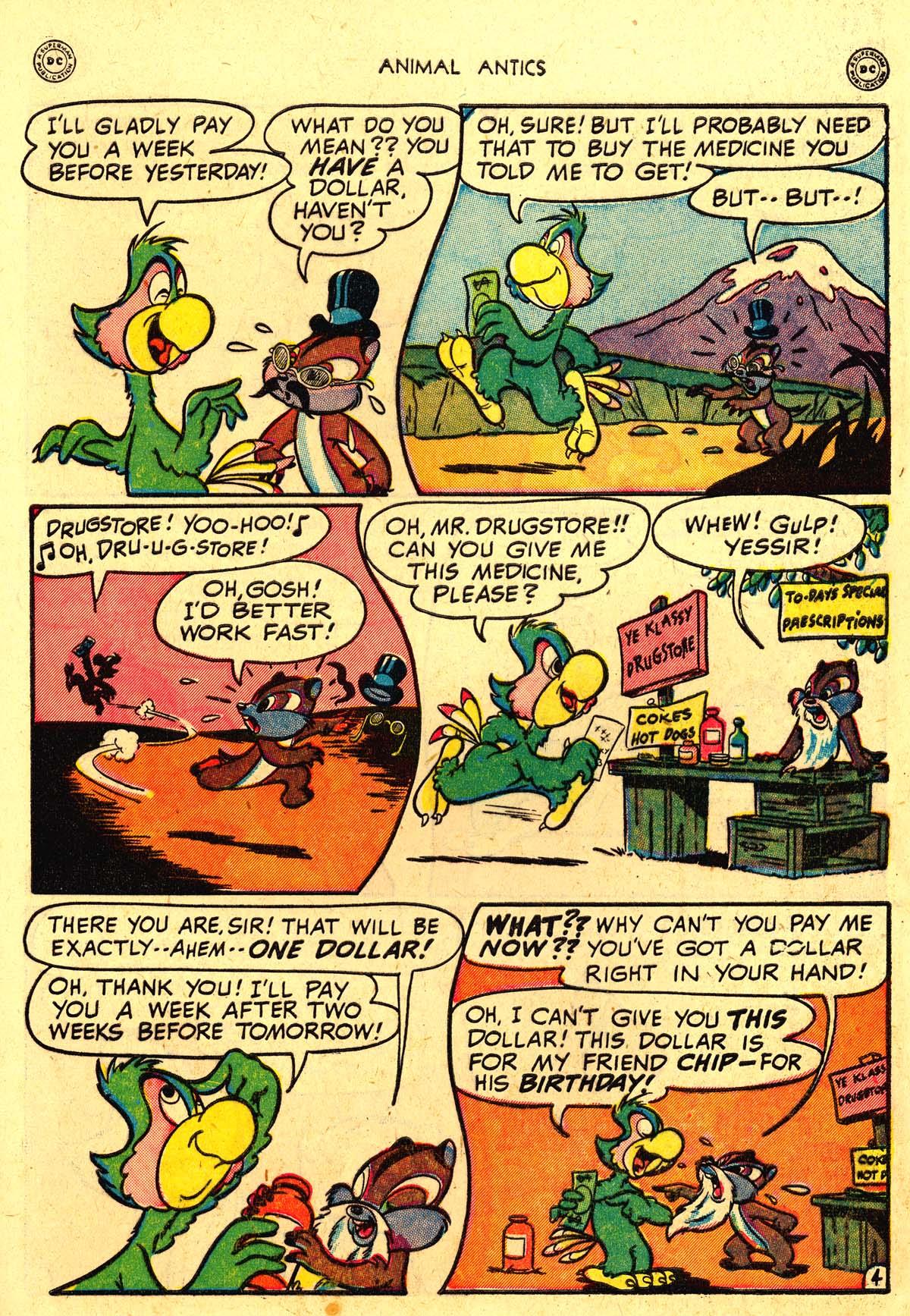 Read online Animal Antics comic -  Issue #18 - 13