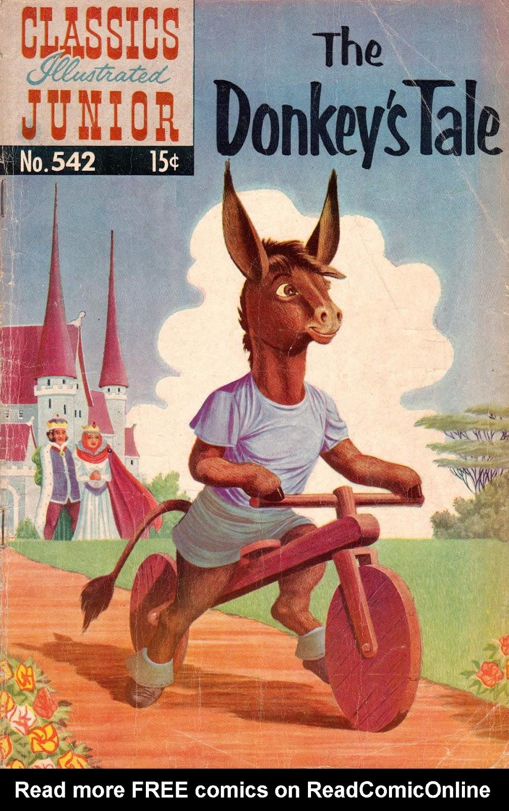 Classics Illustrated Junior issue 542 - Page 1