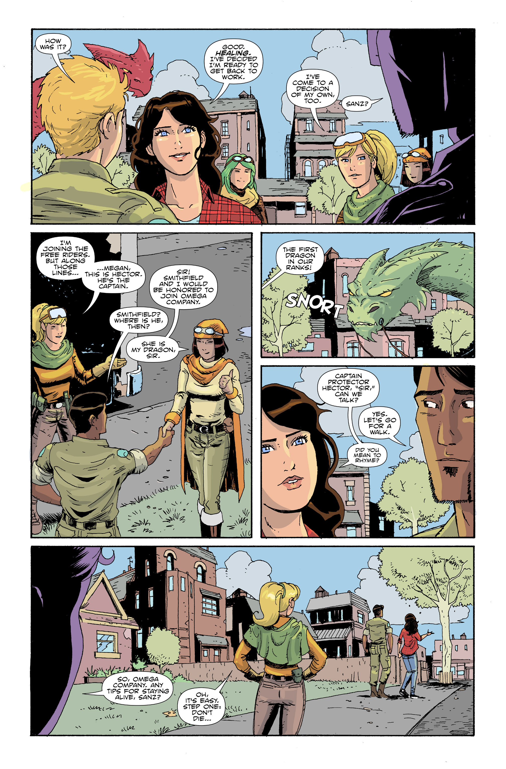 Read online Amelia Cole Versus The End of Everything comic -  Issue #30 - 6