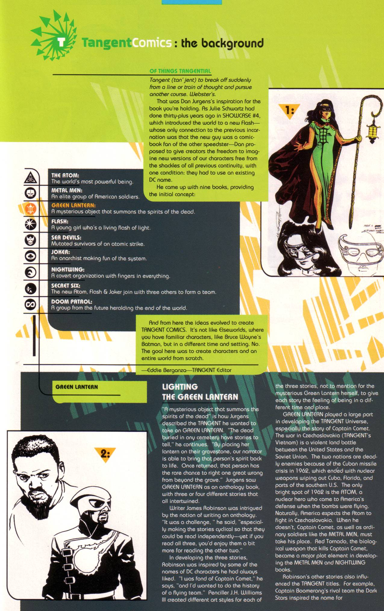 Read online Tangent Comics/ Green Lantern comic -  Issue # Full - 40