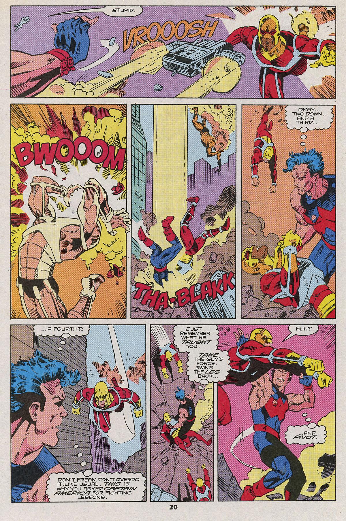 Read online Wonder Man (1991) comic -  Issue #6 - 17