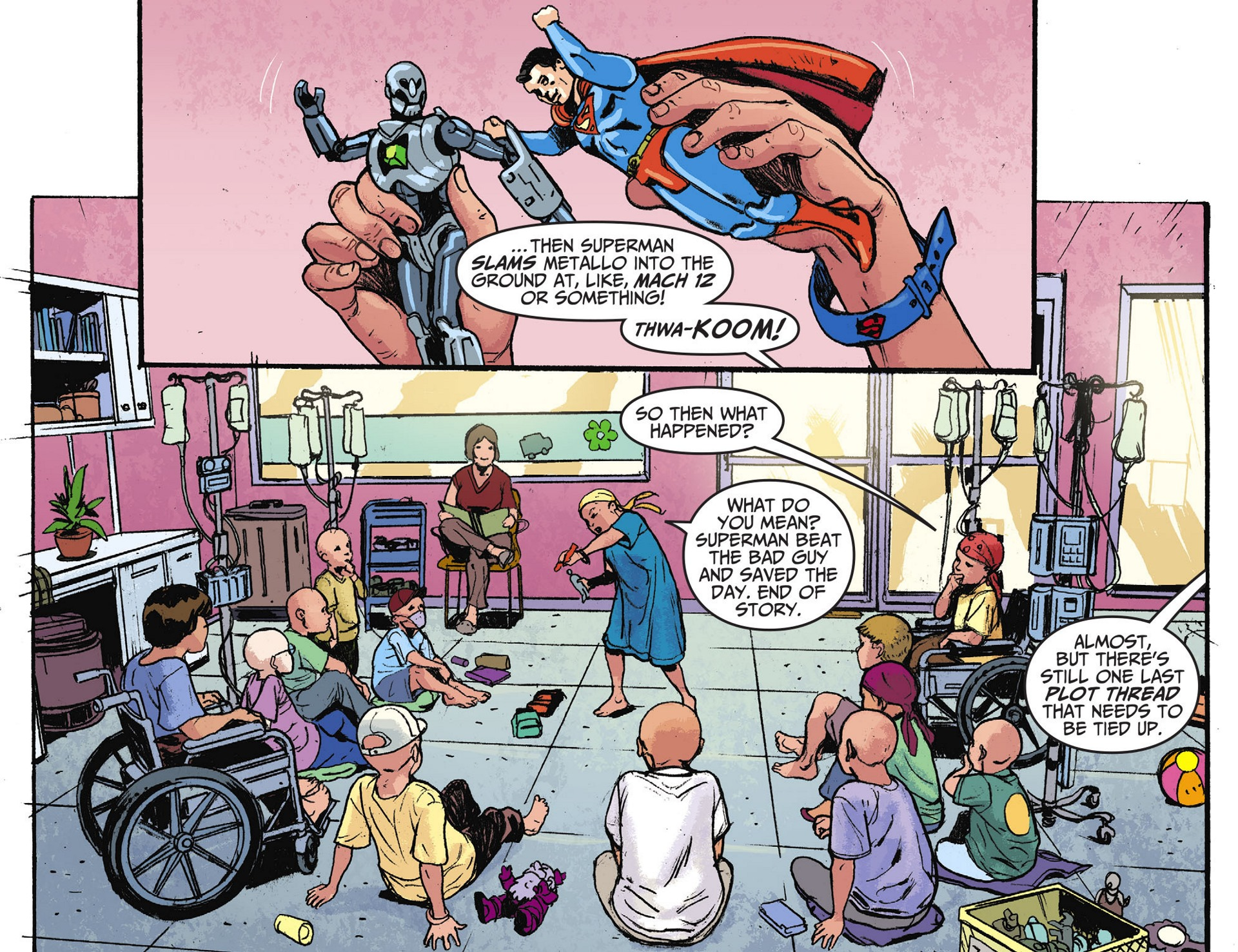 Read online Adventures of Superman [I] comic -  Issue #28 - 17