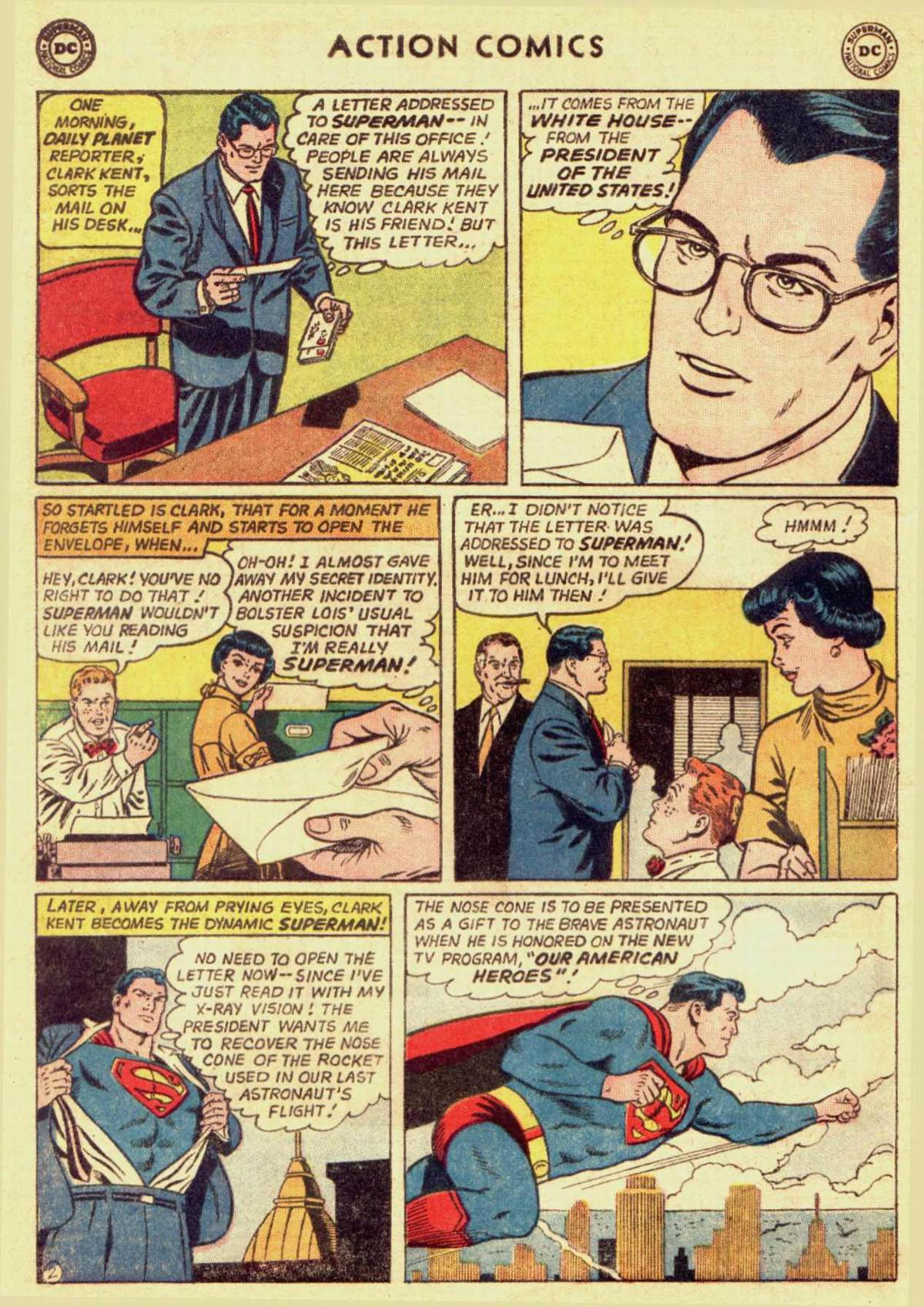 Read online Action Comics (1938) comic -  Issue #309 - 4