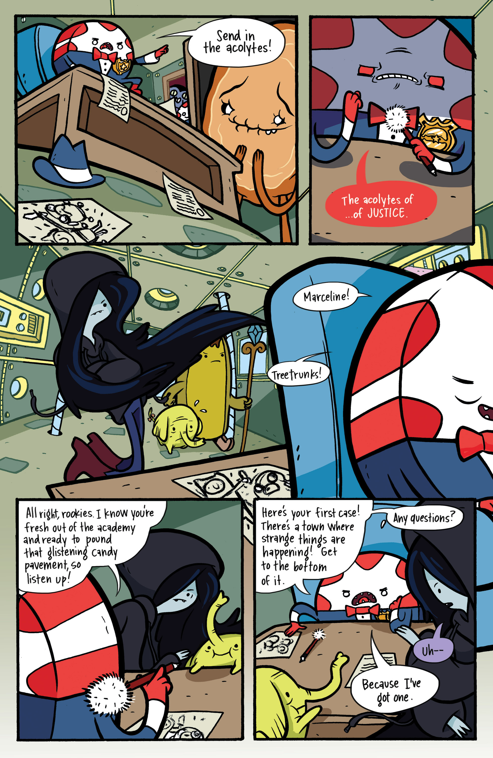 Read online Adventure Time: Candy Capers comic -  Issue #2 - 6