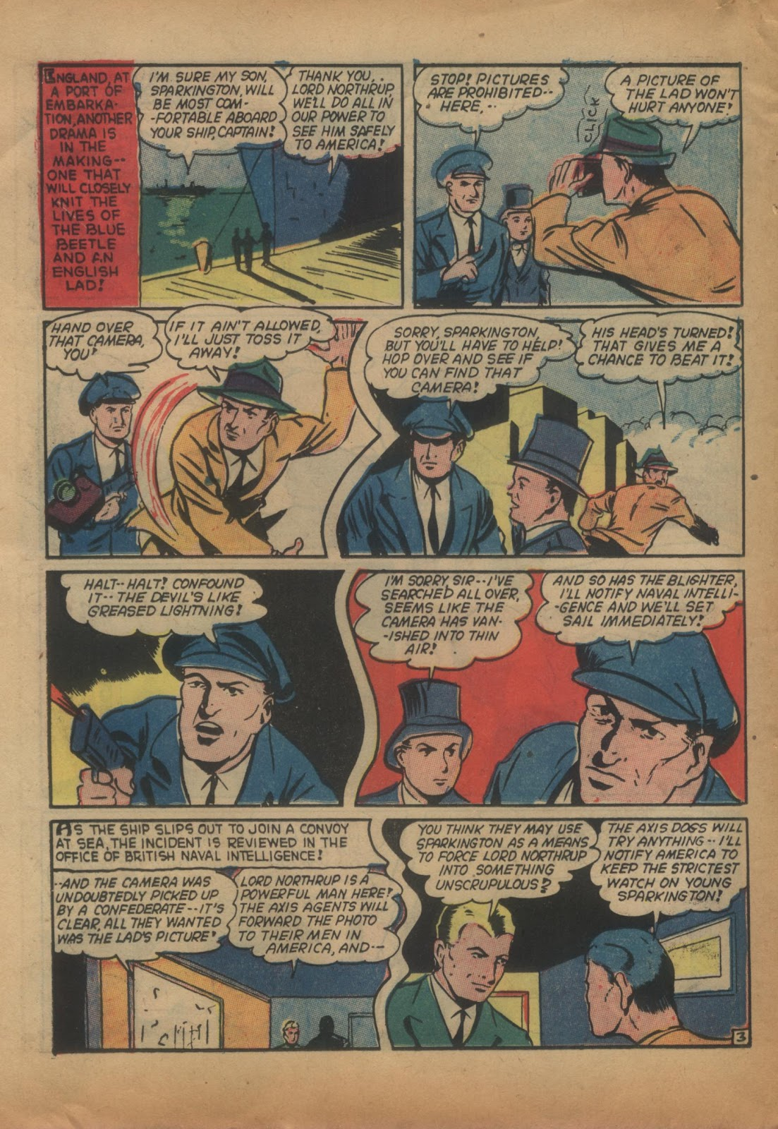 The Blue Beetle issue 15 - Page 22