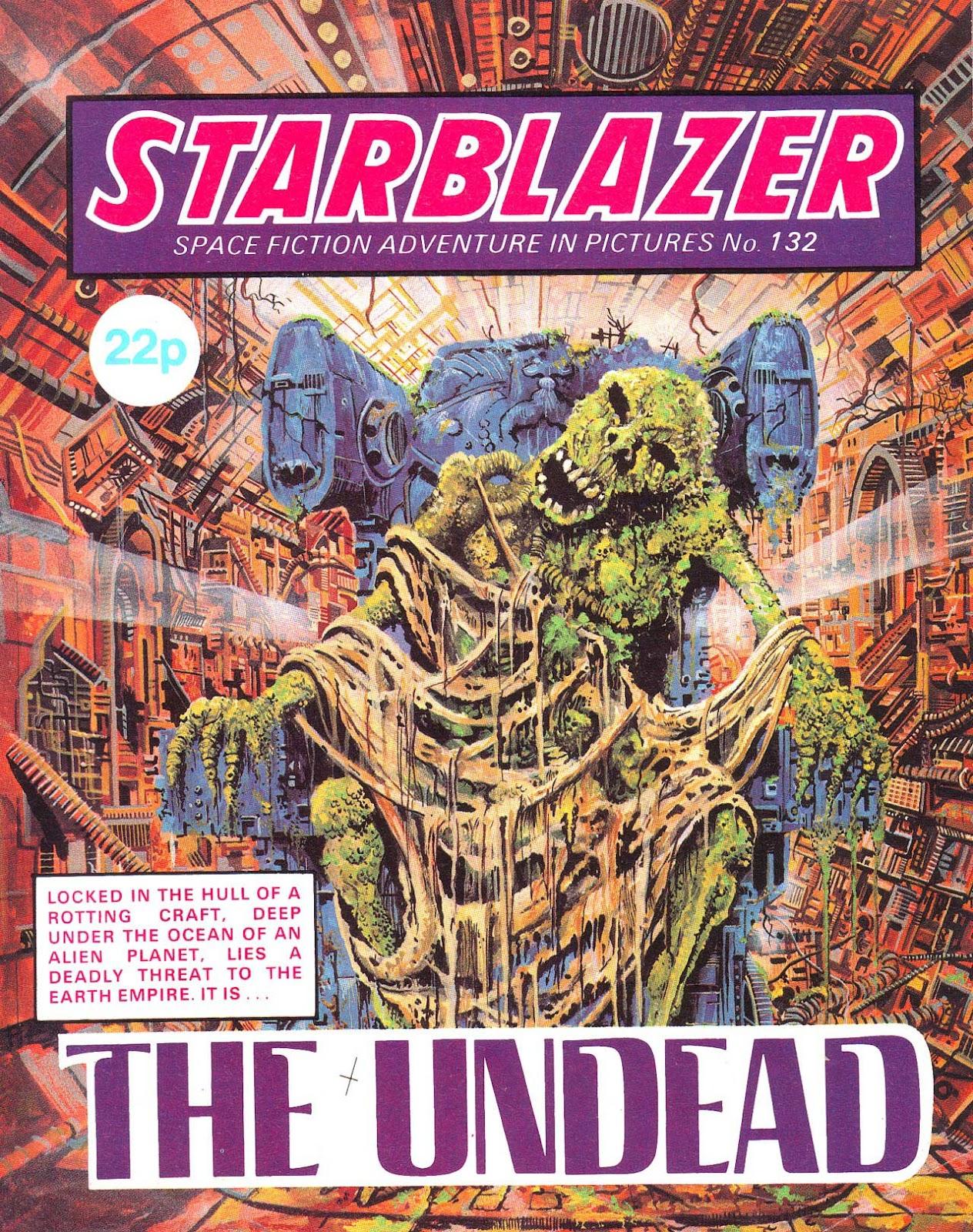 Starblazer issue 132 - Page 1