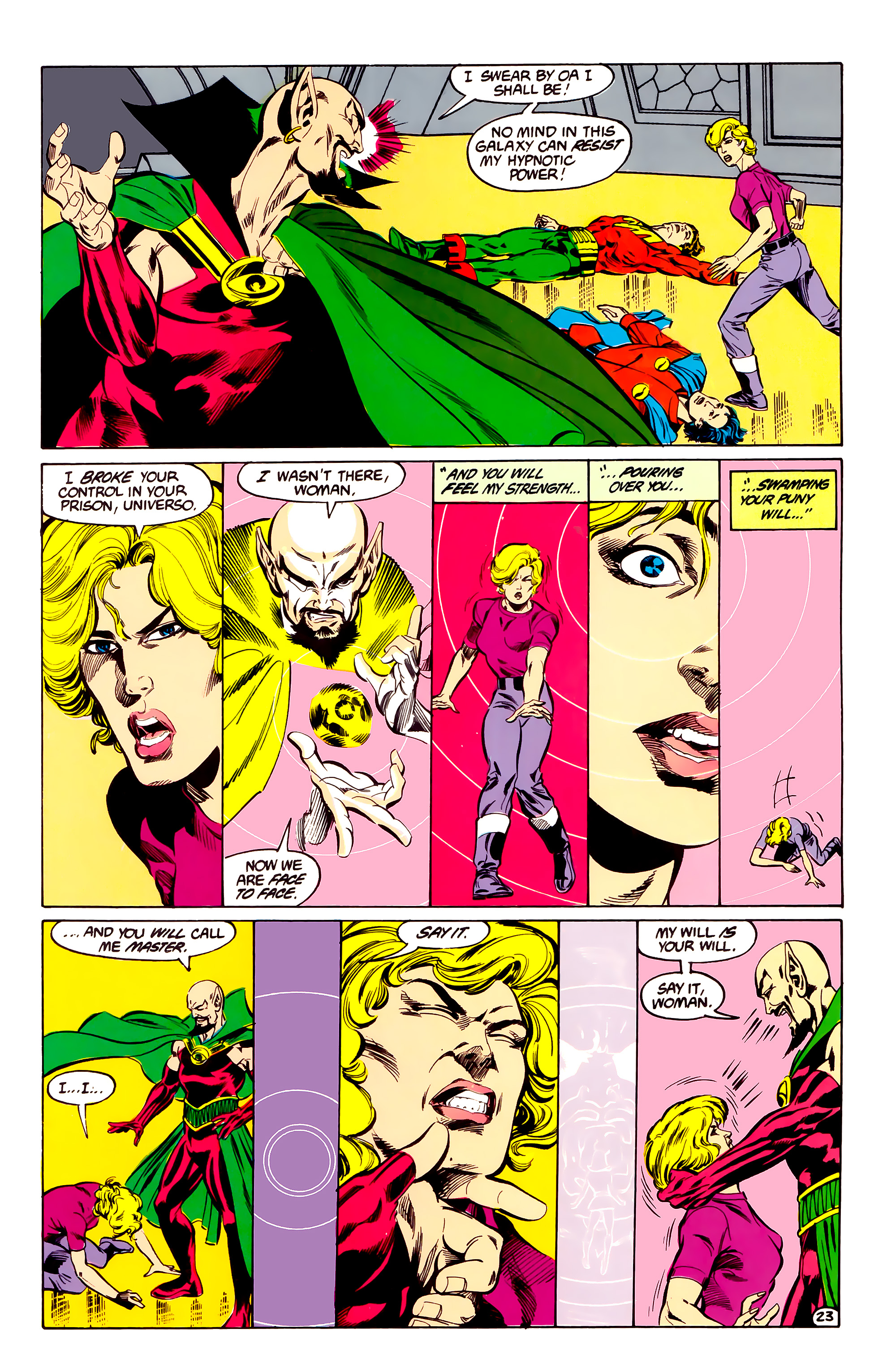 Legion of Super-Heroes (1984) 35 Page 22