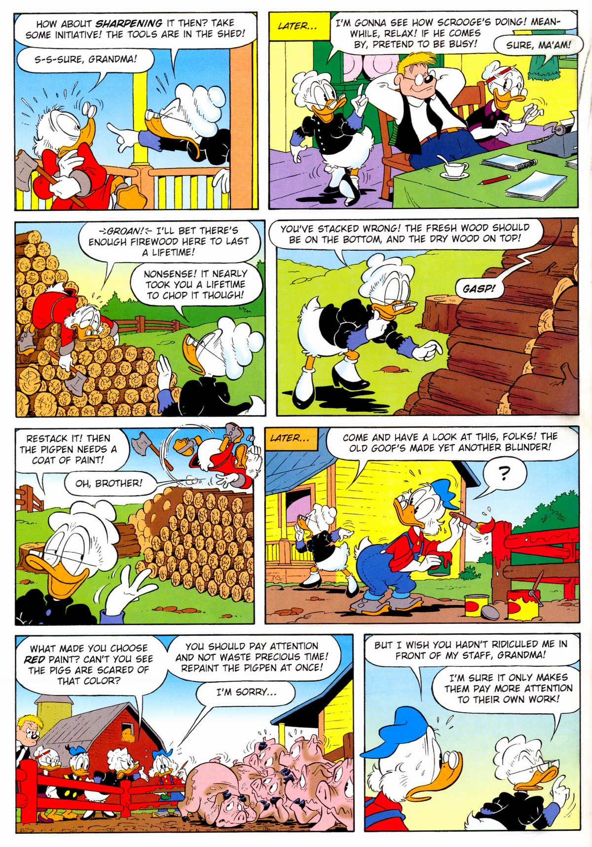 Read online Uncle Scrooge (1953) comic -  Issue #329 - 36