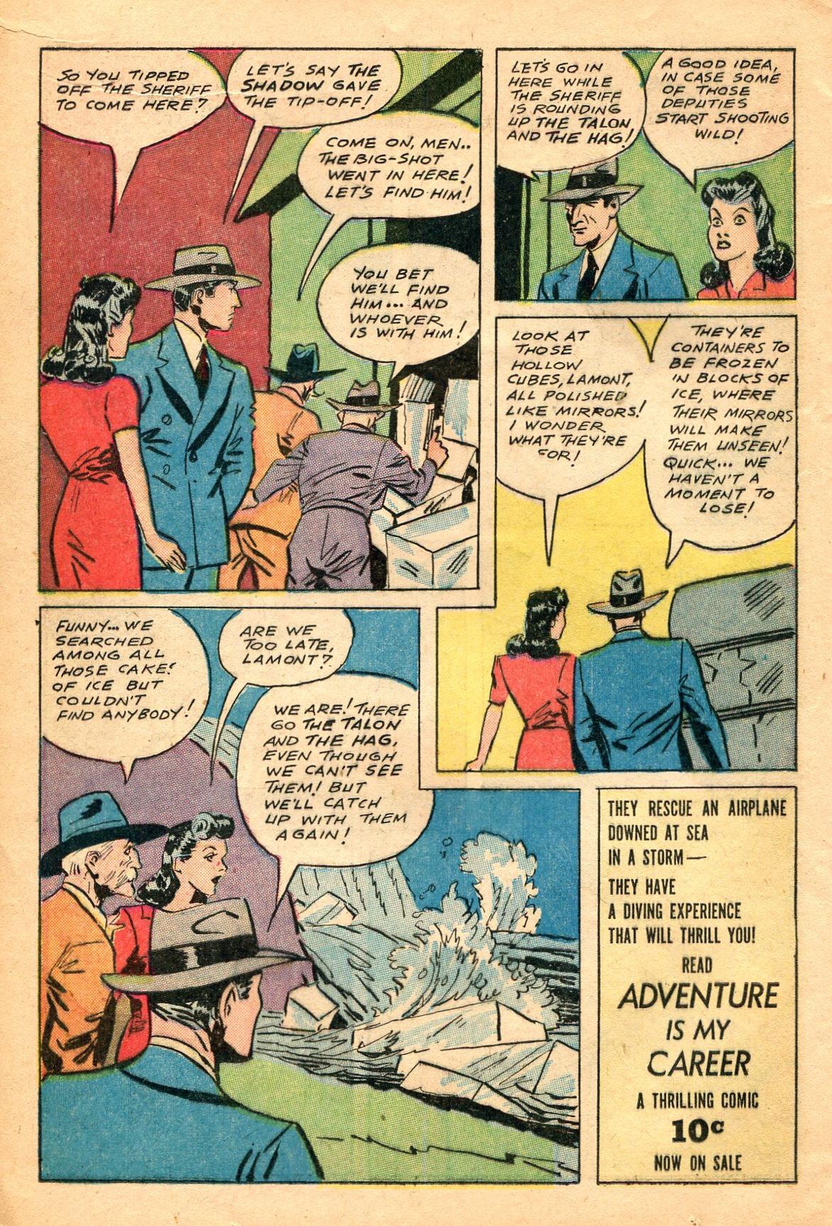 Read online Shadow Comics comic -  Issue #60 - 16