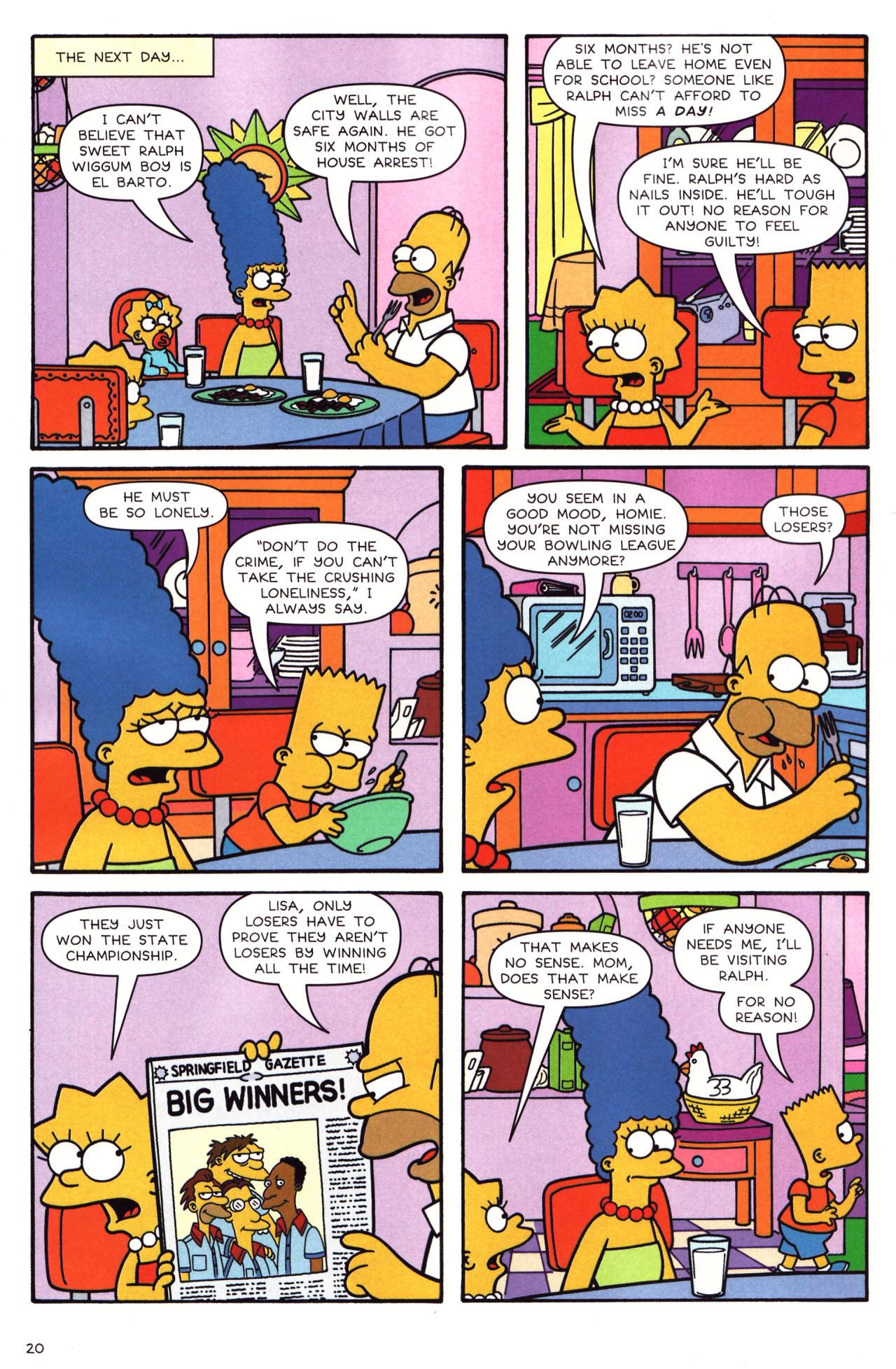 Read online Simpsons Comics comic -  Issue #136 - 15