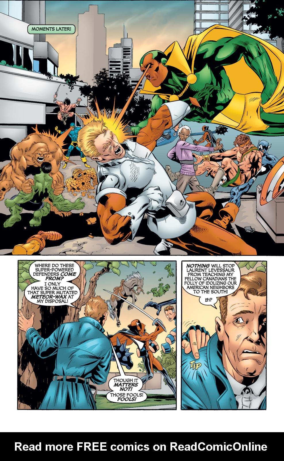 Read online Alpha Flight (2004) comic -  Issue #8 - 17