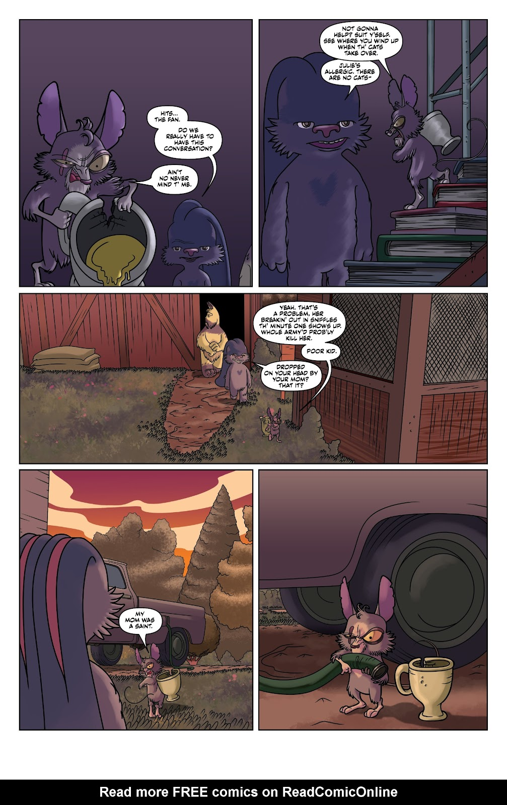 Read online Auntie Agatha's Home For Wayward Rabbits comic -  Issue #4 - 5