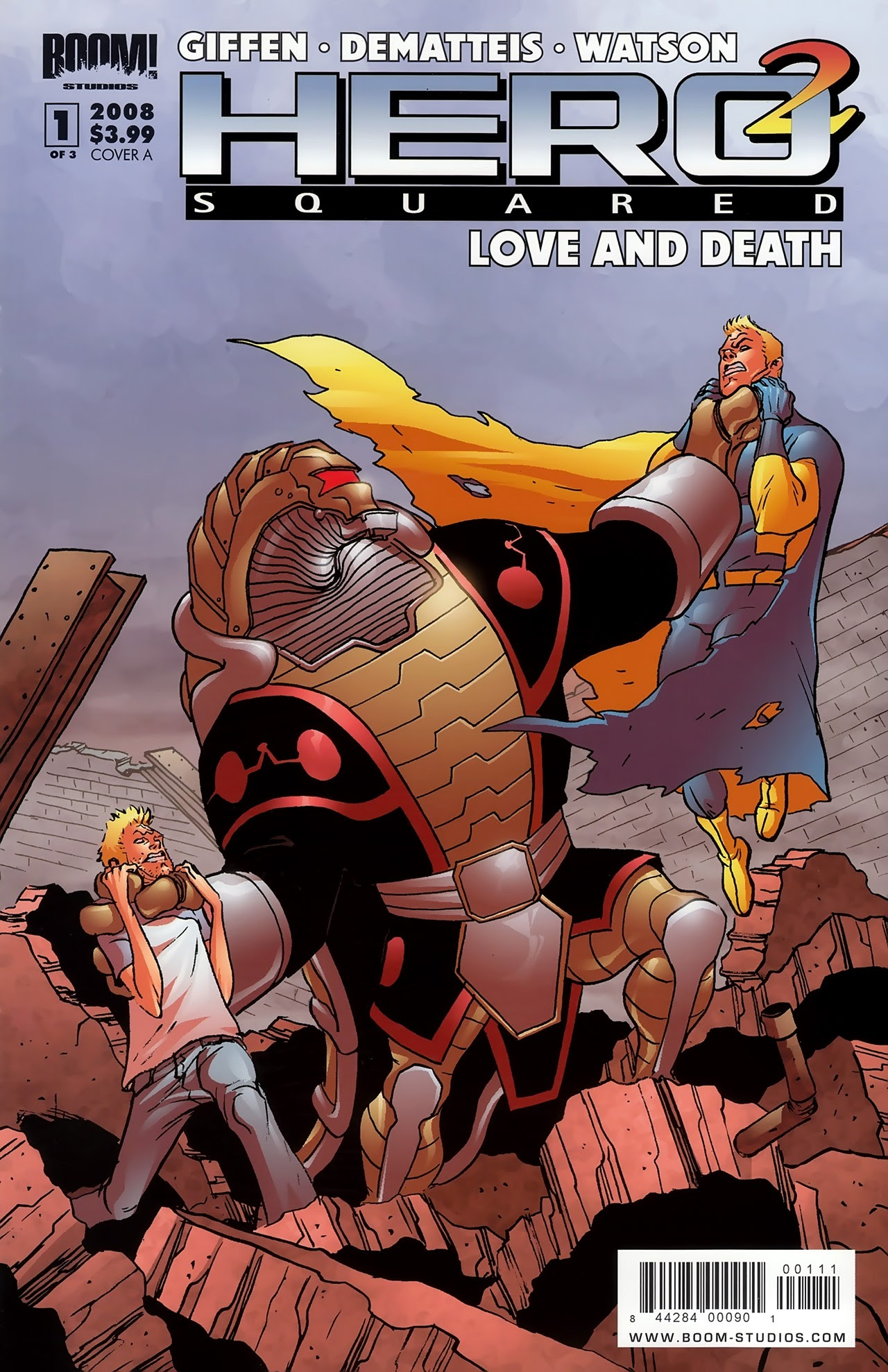 Hero Squared: Love And Death issue 1 - Page 1