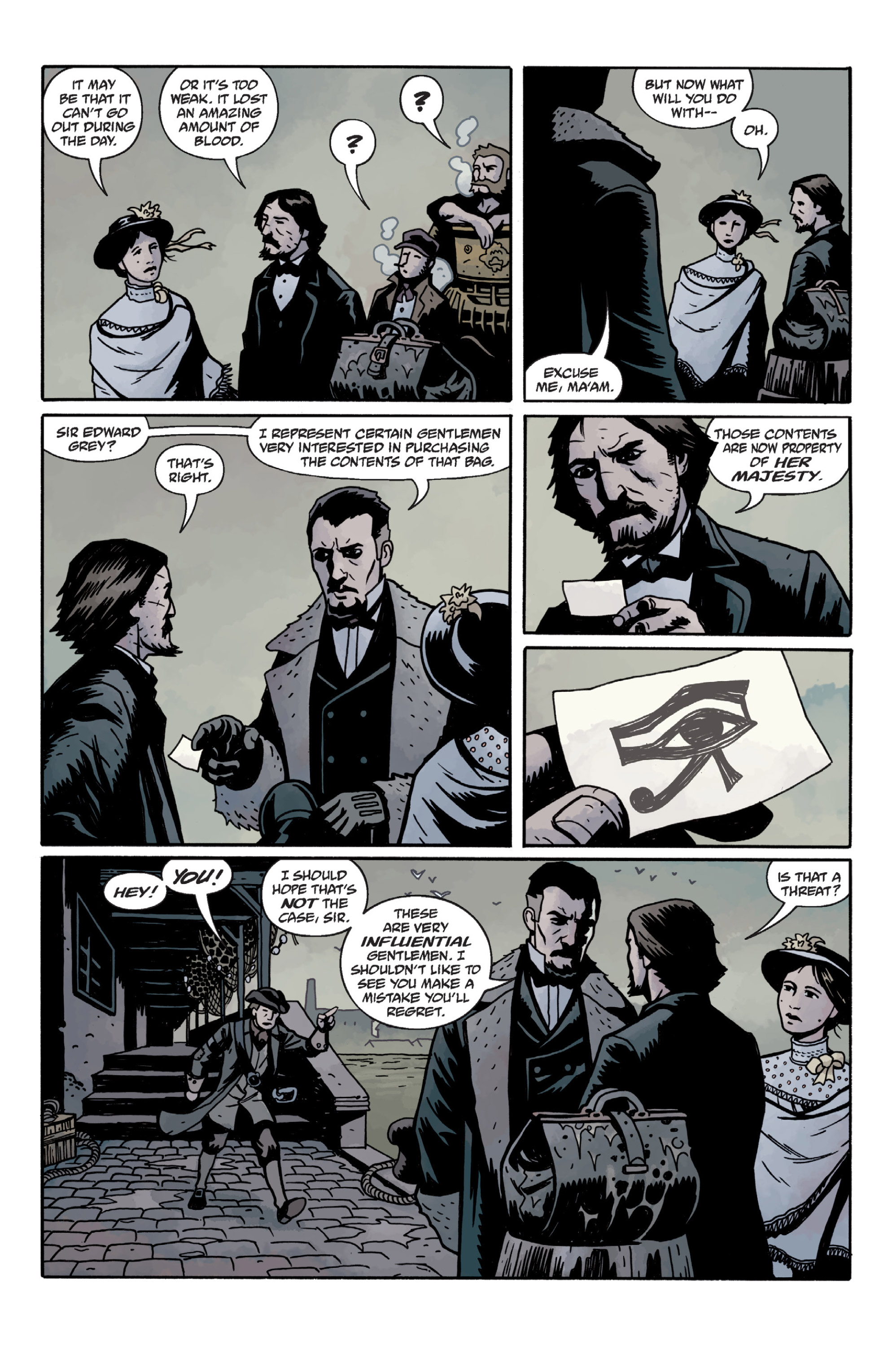 Read online Sir Edward Grey, Witchfinder: In the Service of Angels comic -  Issue # TPB - 66