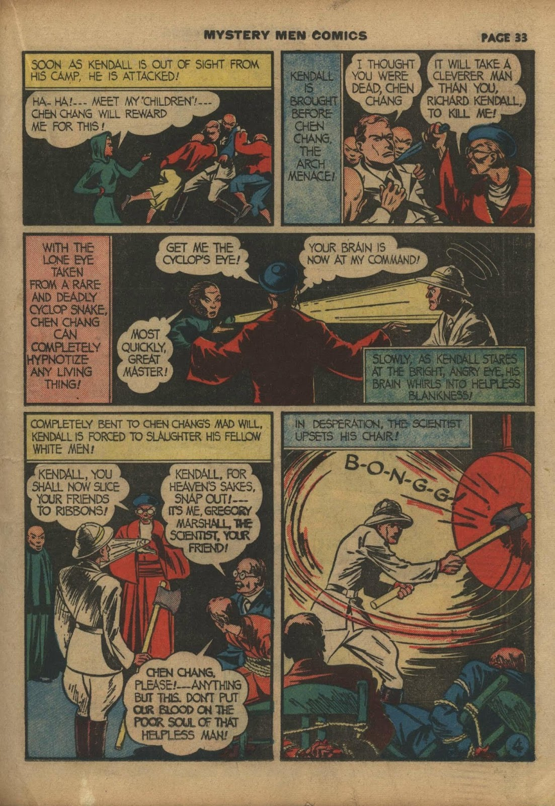 Mystery Men Comics issue 10 - Page 35