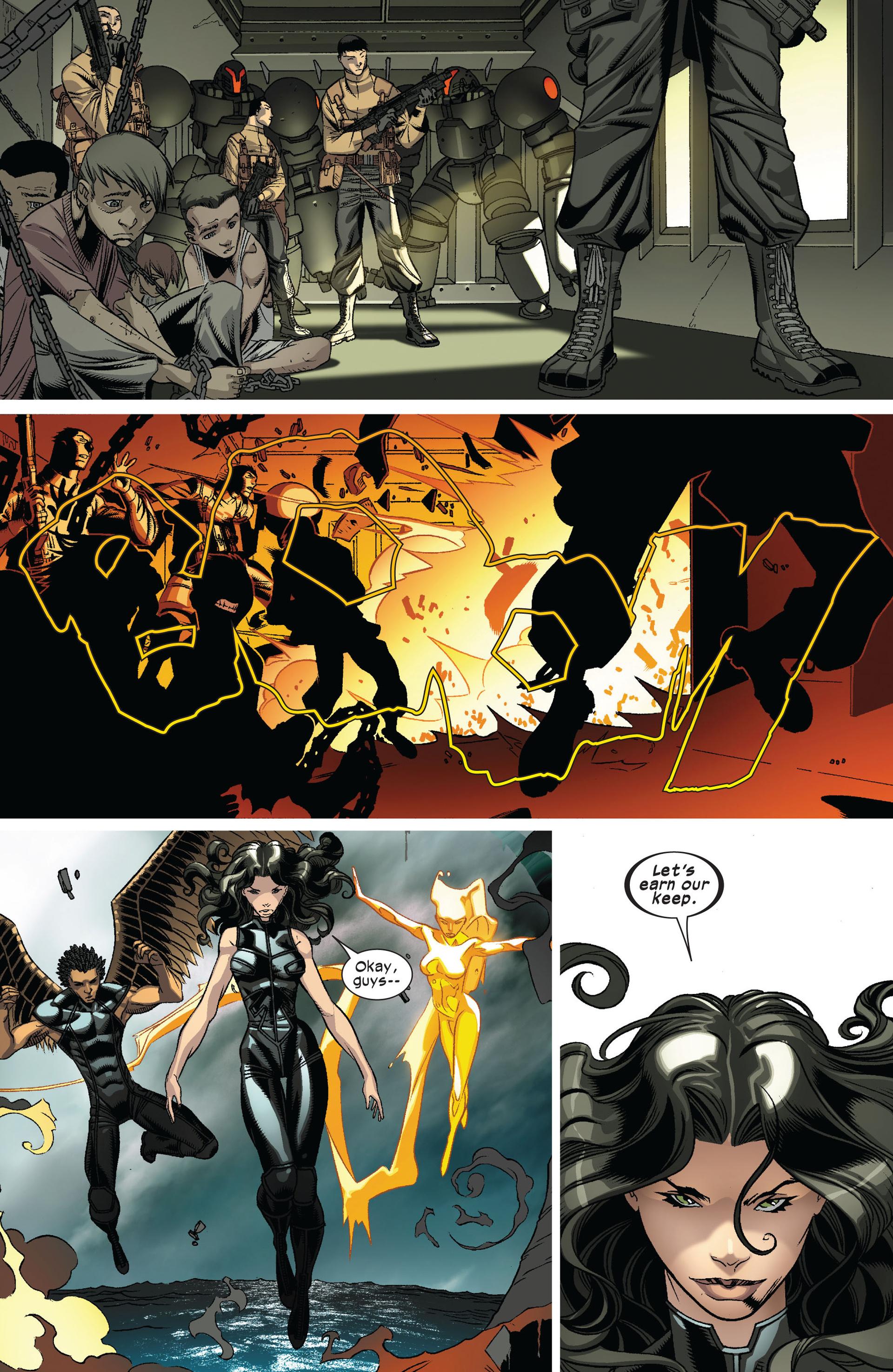 Read online Ultimate Comics X-Men comic -  Issue #8 - 9