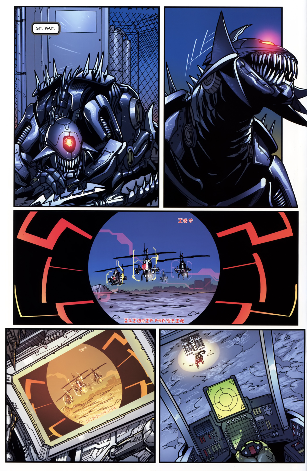 Read online Transformers: Tales of The Fallen comic -  Issue #5 - 12