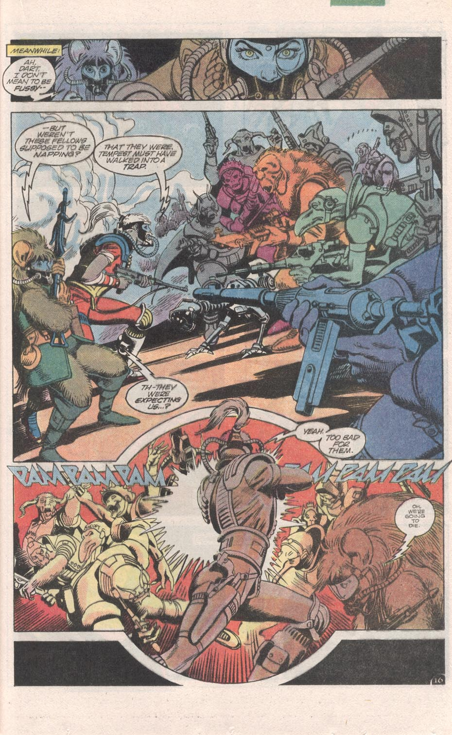 Read online Atari Force (1984) comic -  Issue #6 - 18