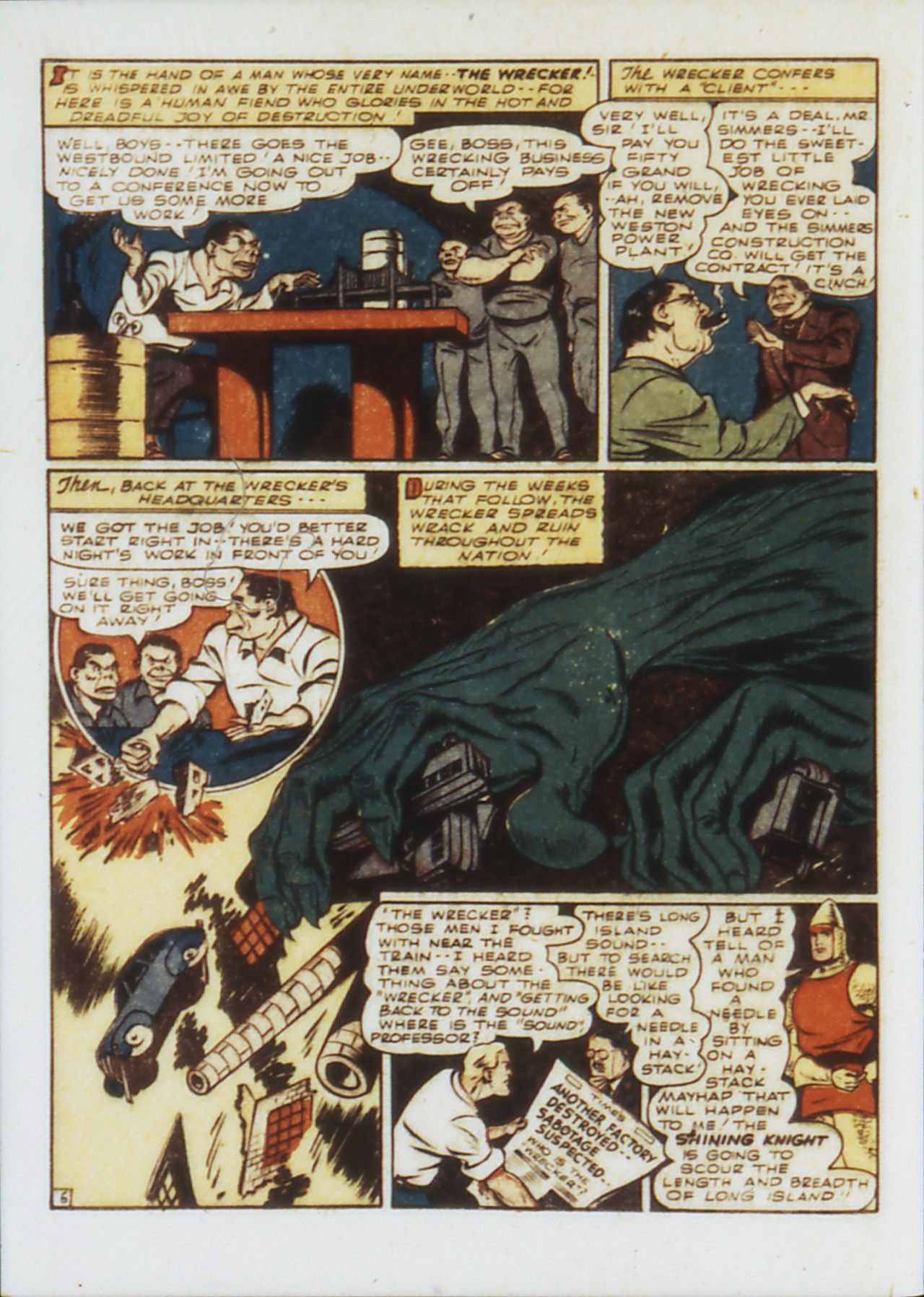 Read online Adventure Comics (1938) comic -  Issue #75 - 39