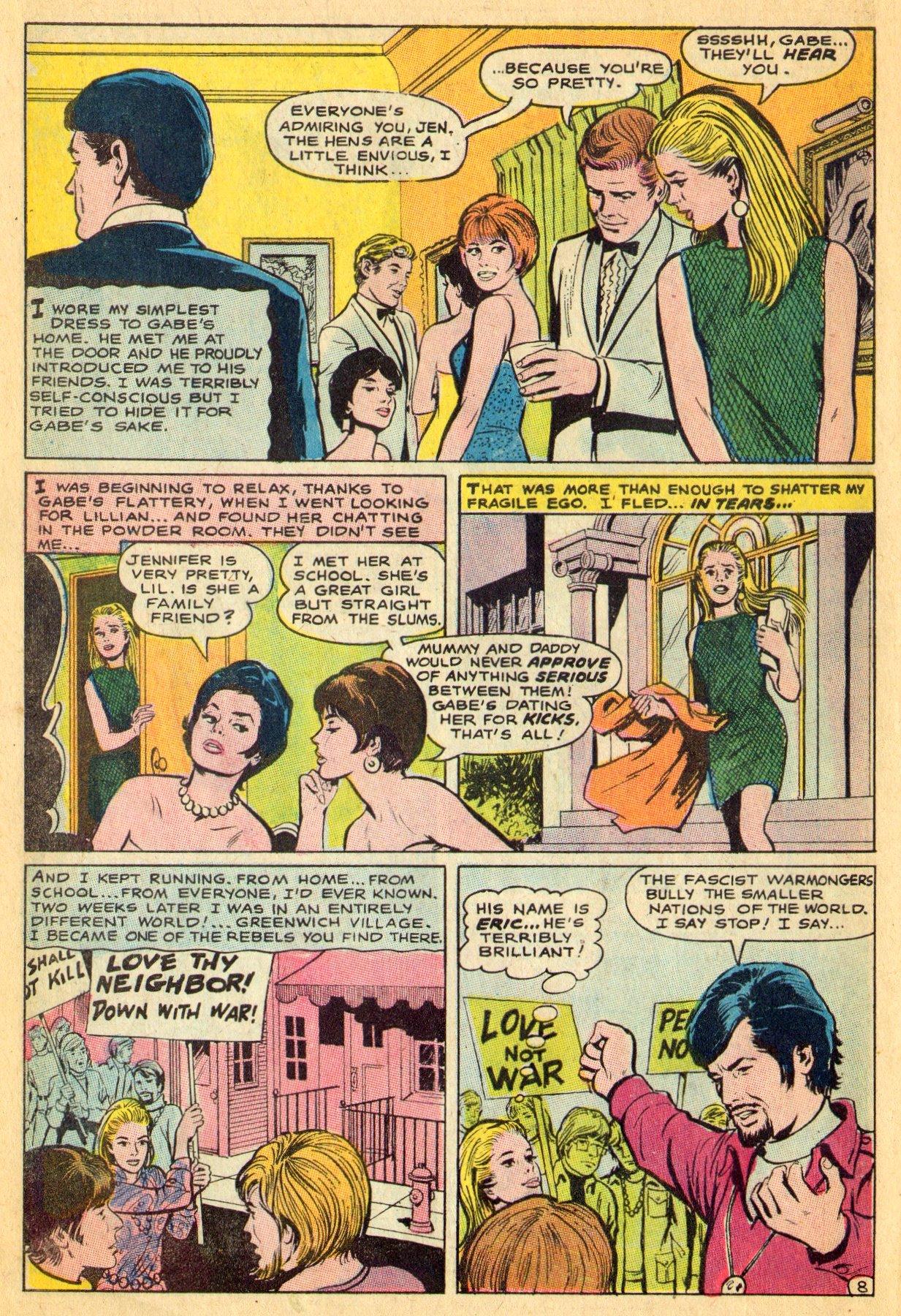 Read online Secret Hearts comic -  Issue #134 - 10