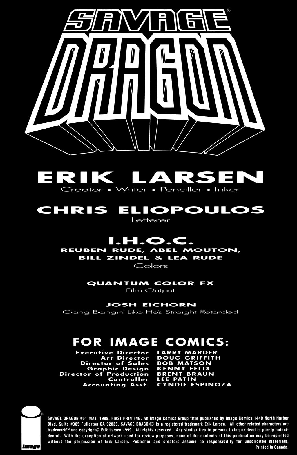 The Savage Dragon (1993) Issue #61 #64 - English 2