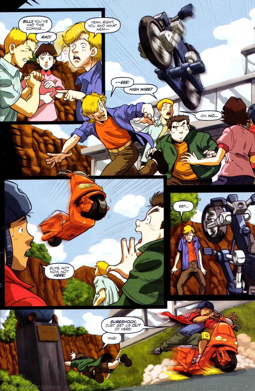 Read online Transformers Armada comic -  Issue #8 - 8