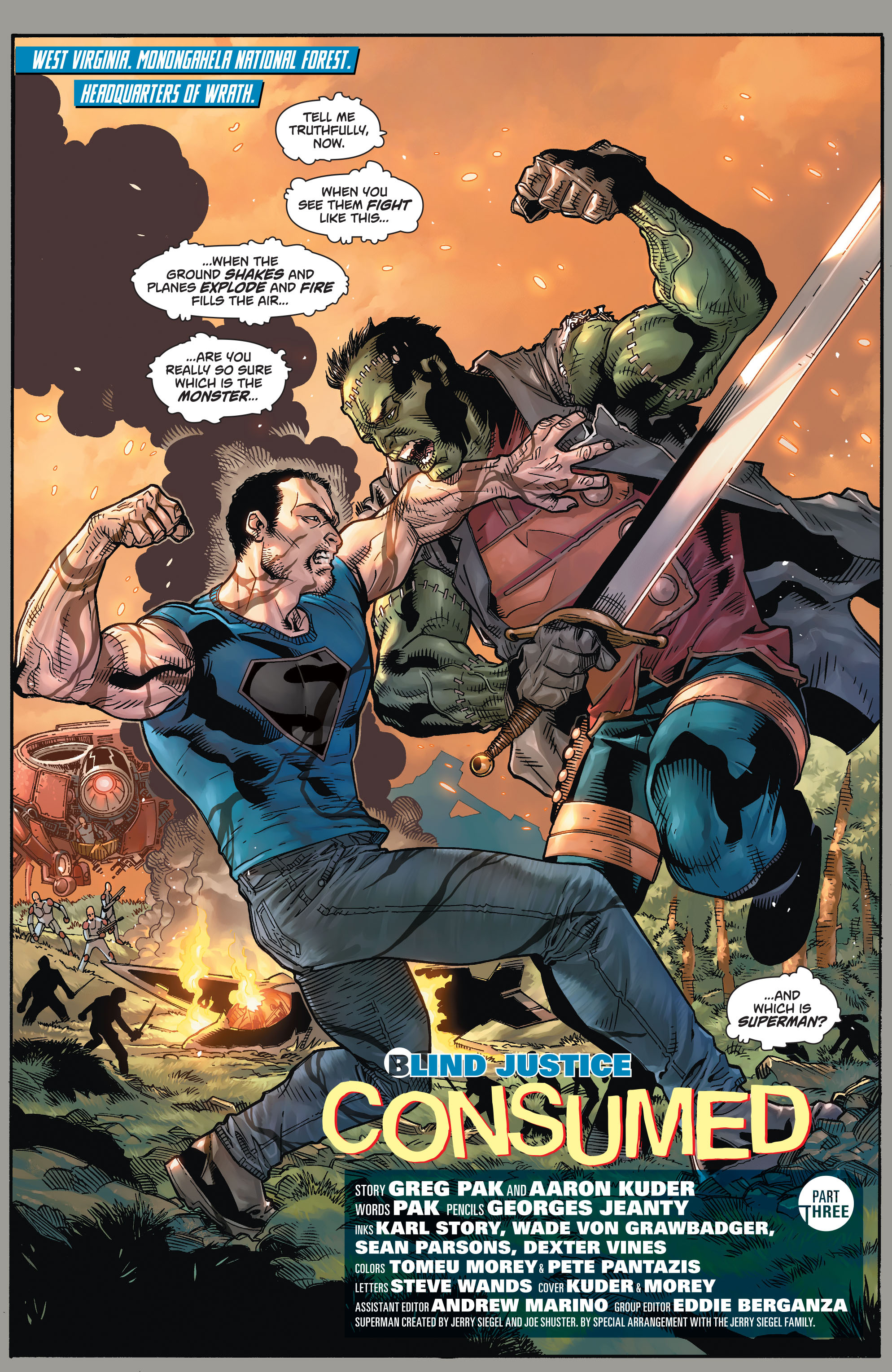 Read online Action Comics (2011) comic -  Issue #47 - 3