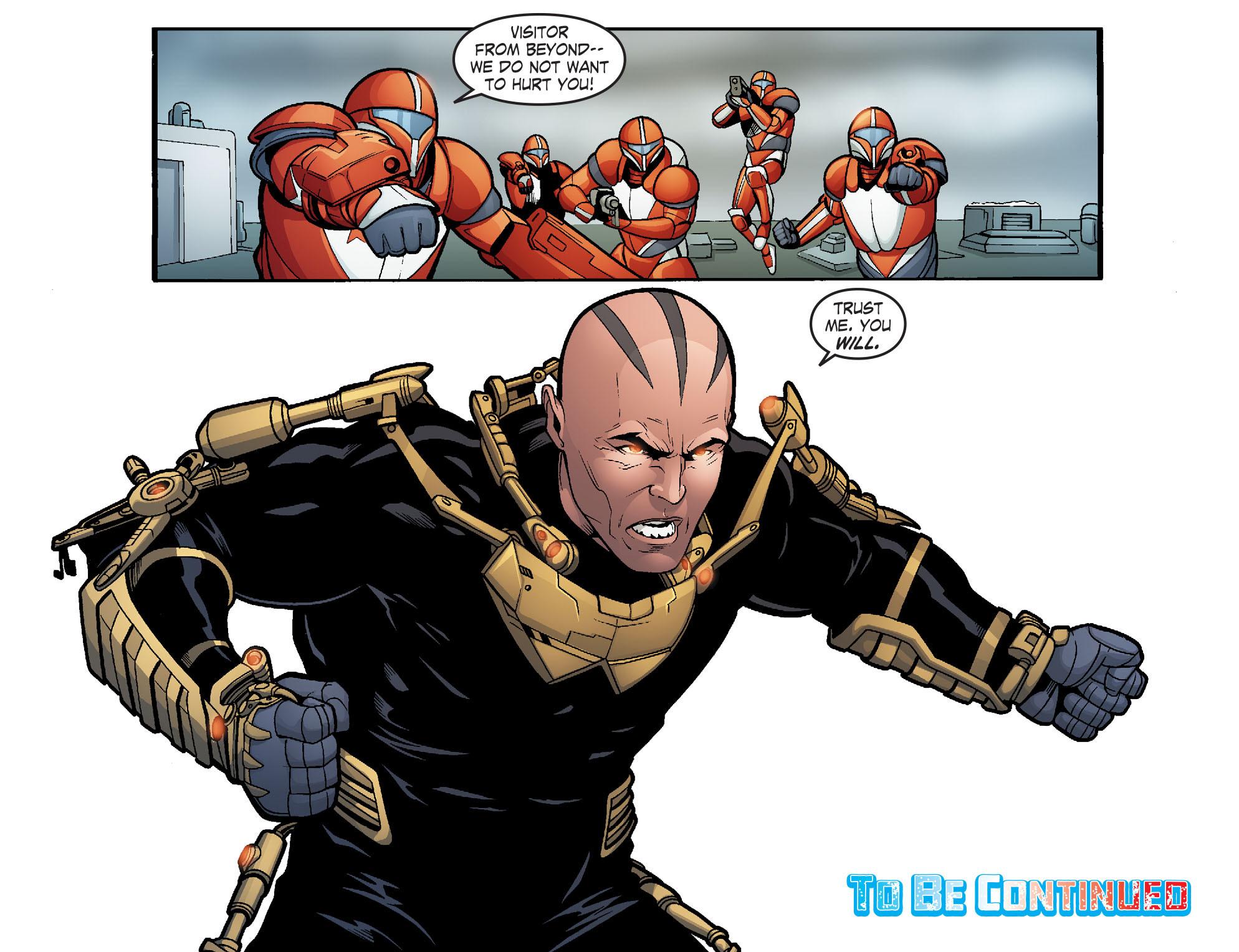 Read online Smallville: Alien comic -  Issue #5 - 22