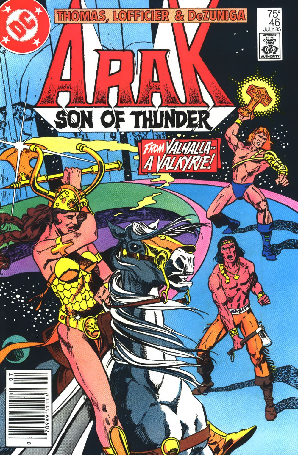 Arak Son of Thunder 46 Page 1