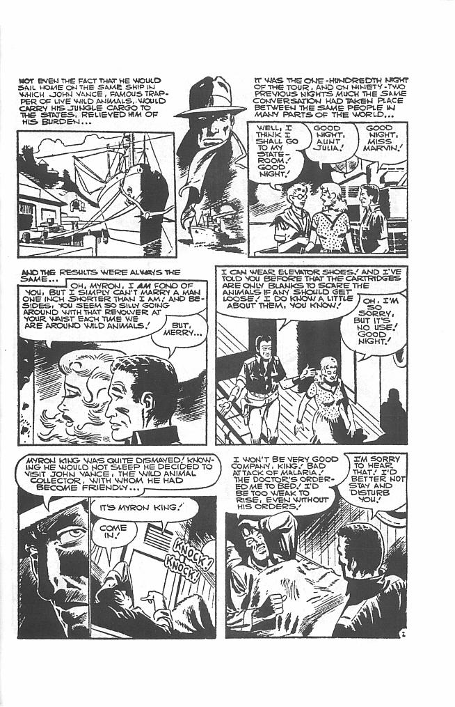 Read online Men of Mystery Comics comic -  Issue #34 - 37
