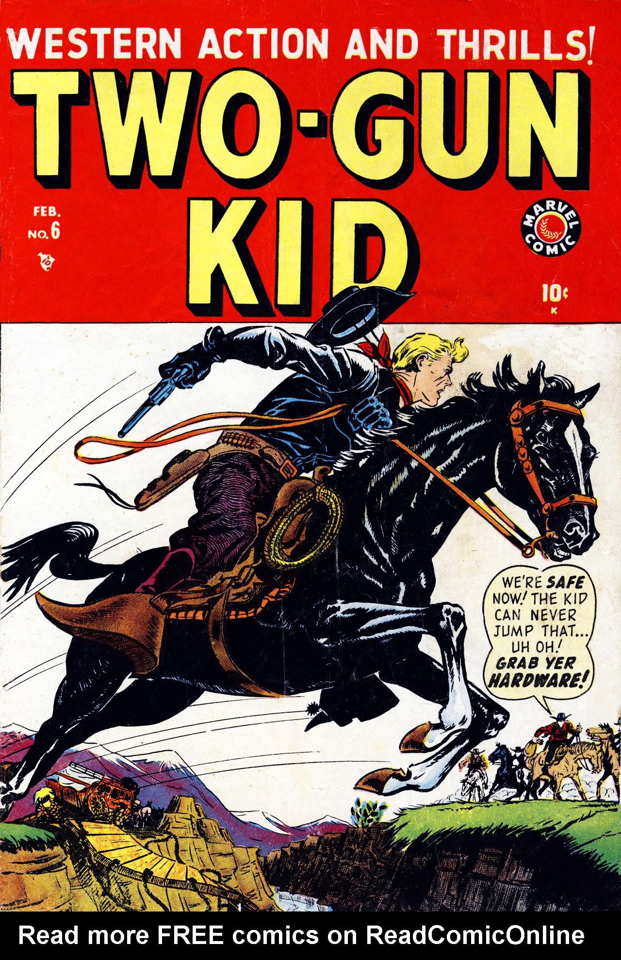 Read online Two-Gun Kid comic -  Issue #6 - 1