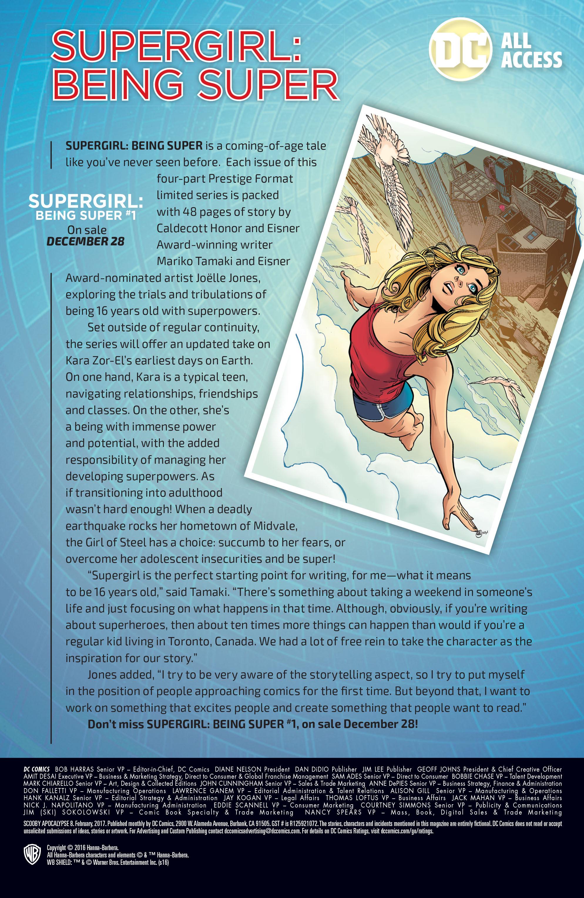 Read online Scooby Apocalypse comic -  Issue #8 - 27