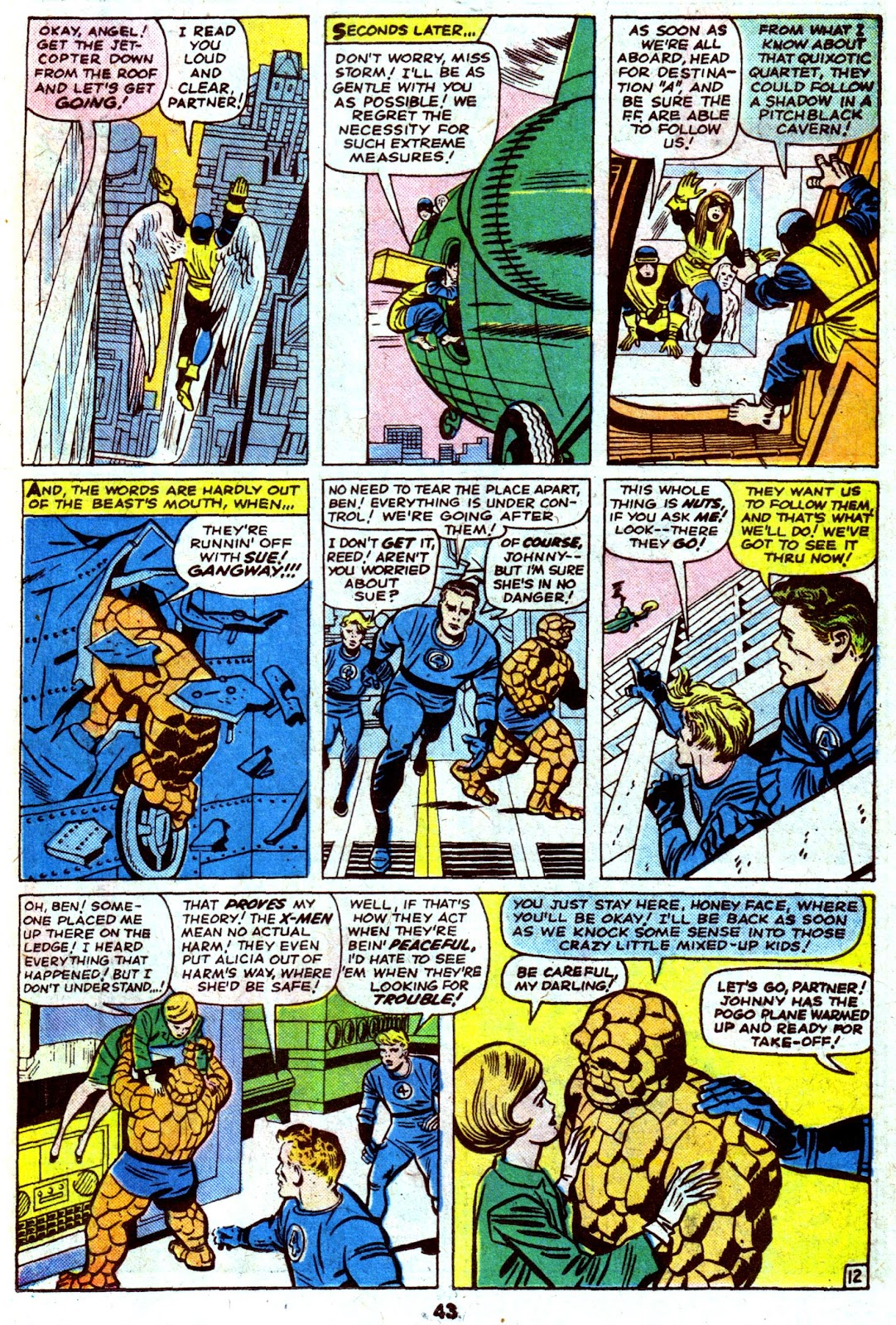Giant-Size Fantastic Four issue 4 - Page 45