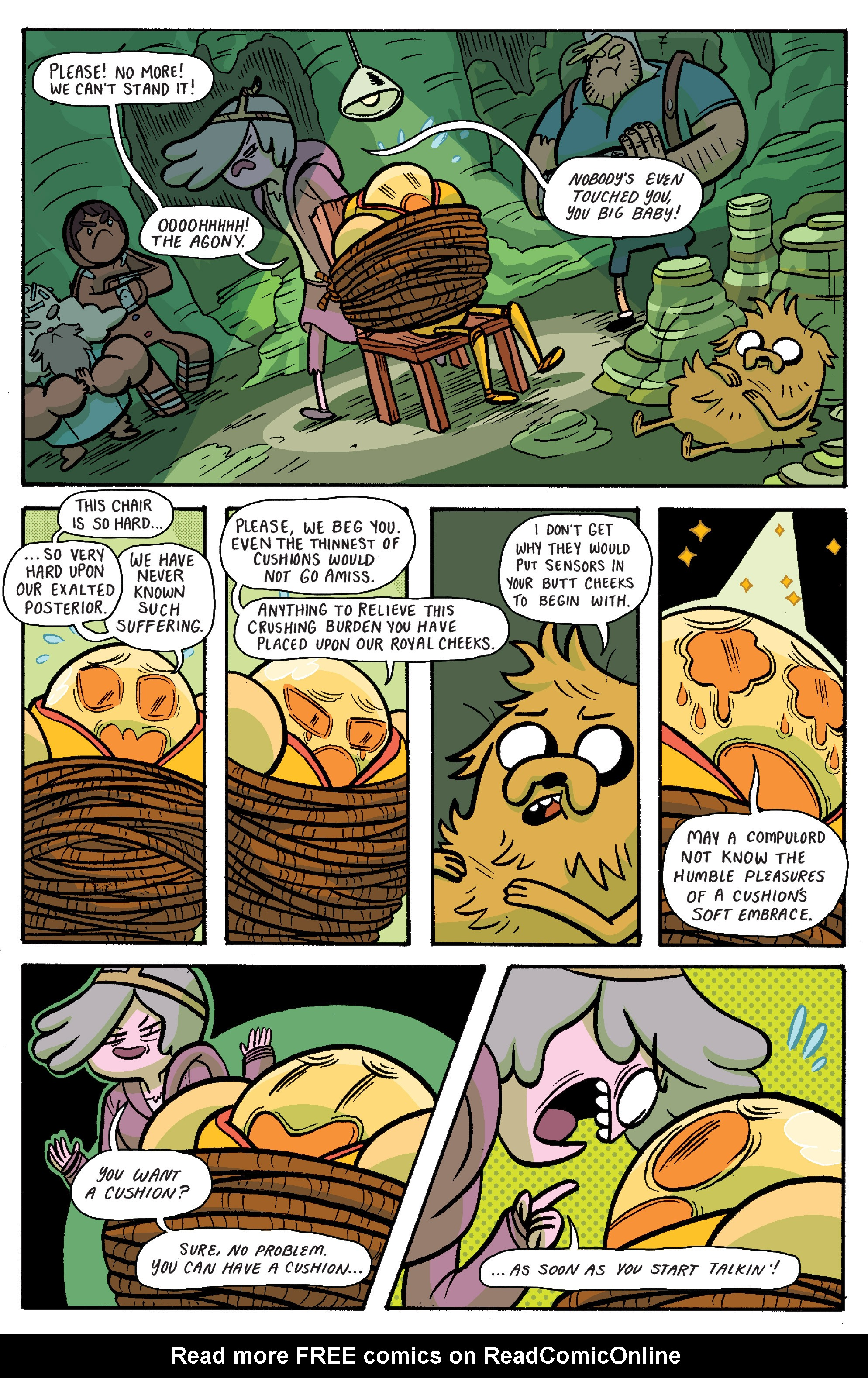Read online Adventure Time: Banana Guard Academ comic -  Issue #6 - 12