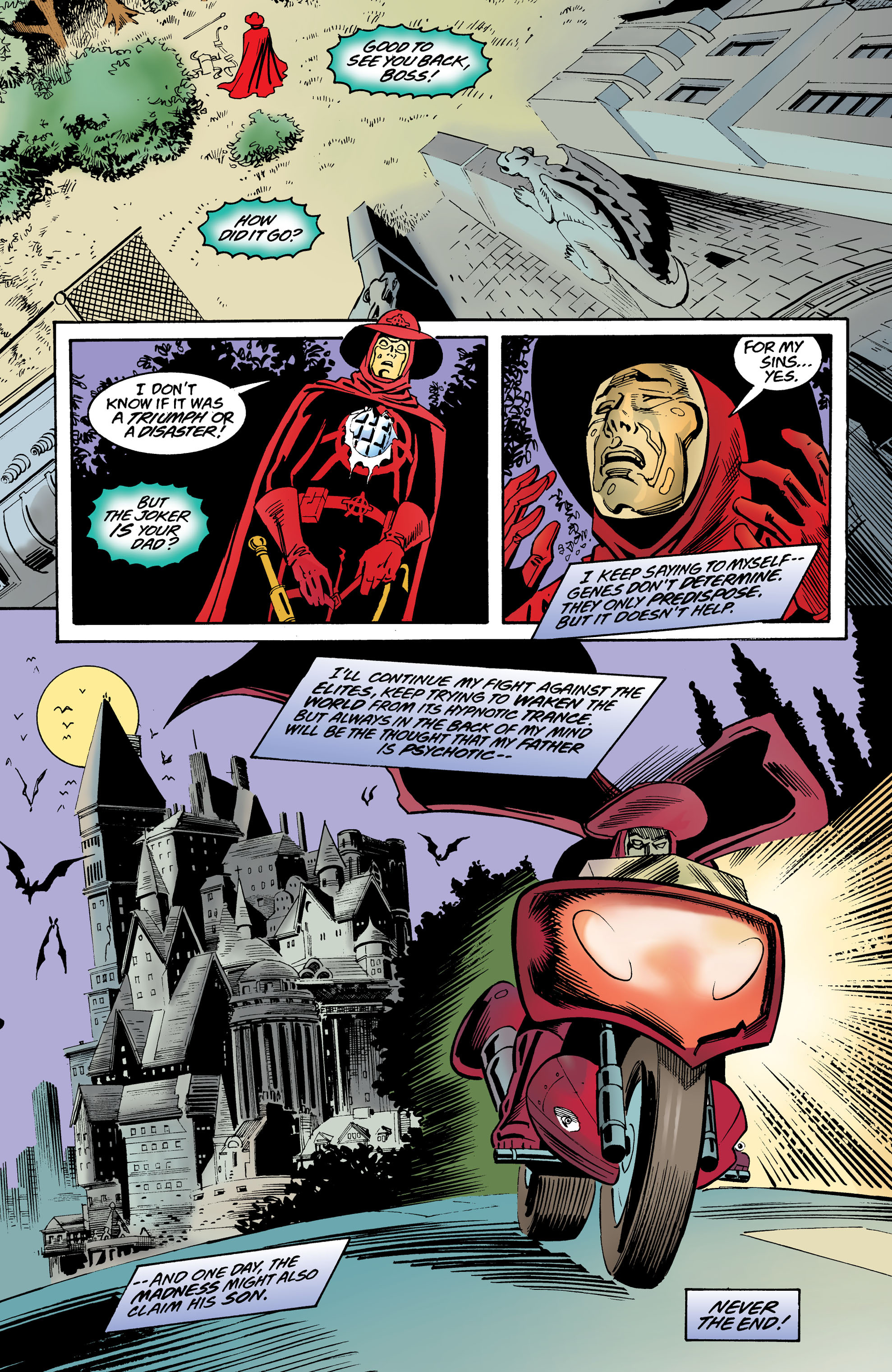 Read online Anarky (1999) comic -  Issue #8 - 23