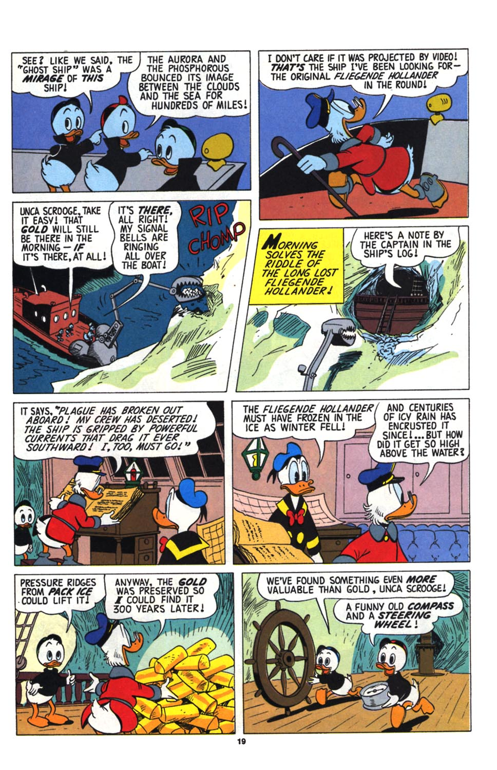 Read online Uncle Scrooge (1953) comic -  Issue #255 - 21