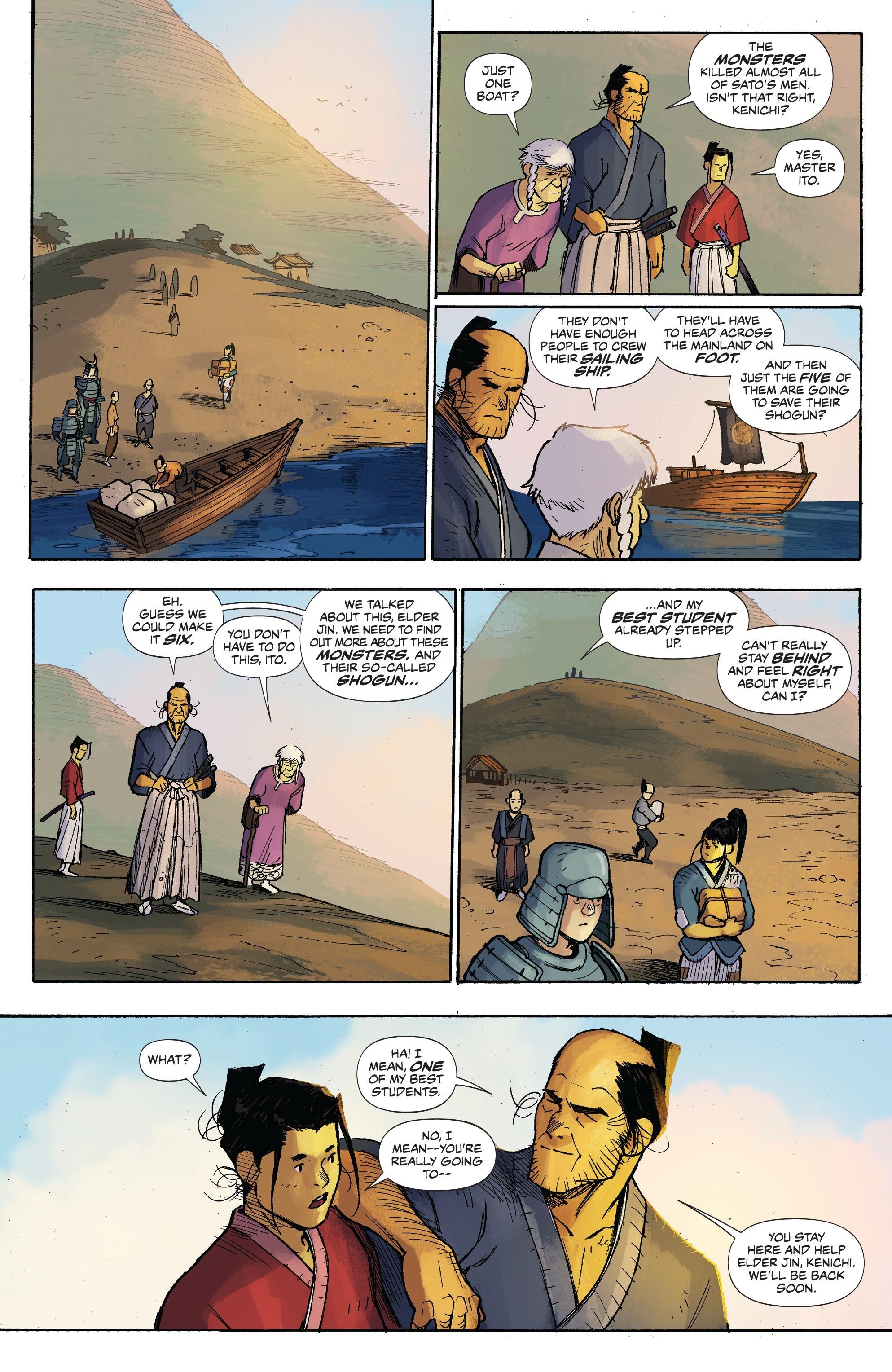 Read online Ronin Island comic -  Issue #3 - 6