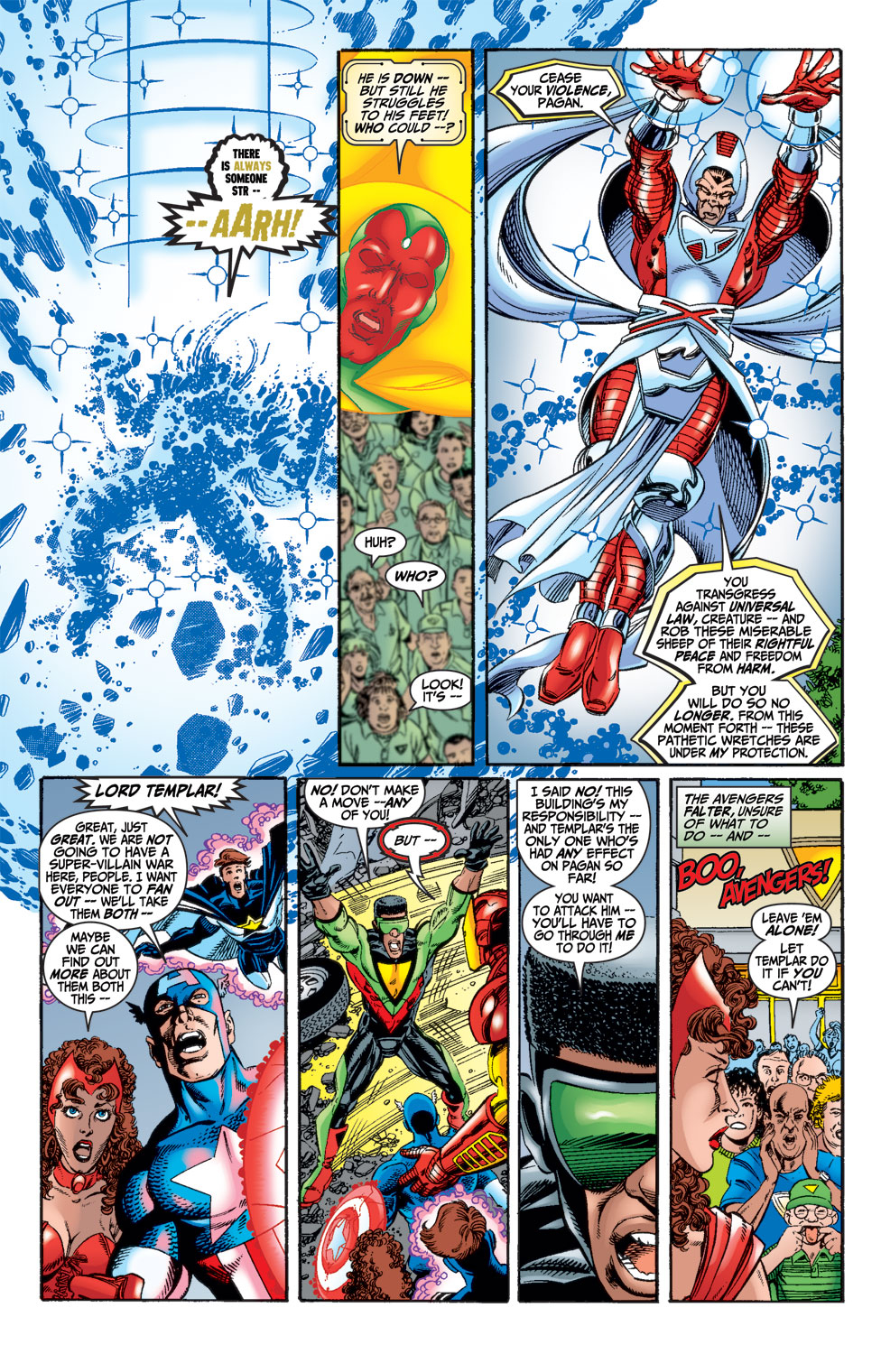 Read online Avengers (1998) comic -  Issue #15 - 17