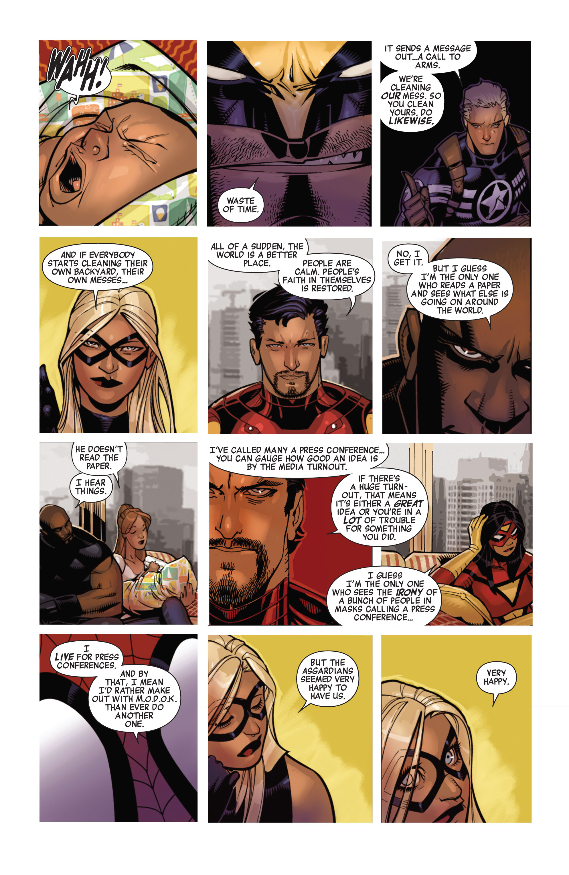 Read online Avengers (2010) comic -  Issue #13 - 12