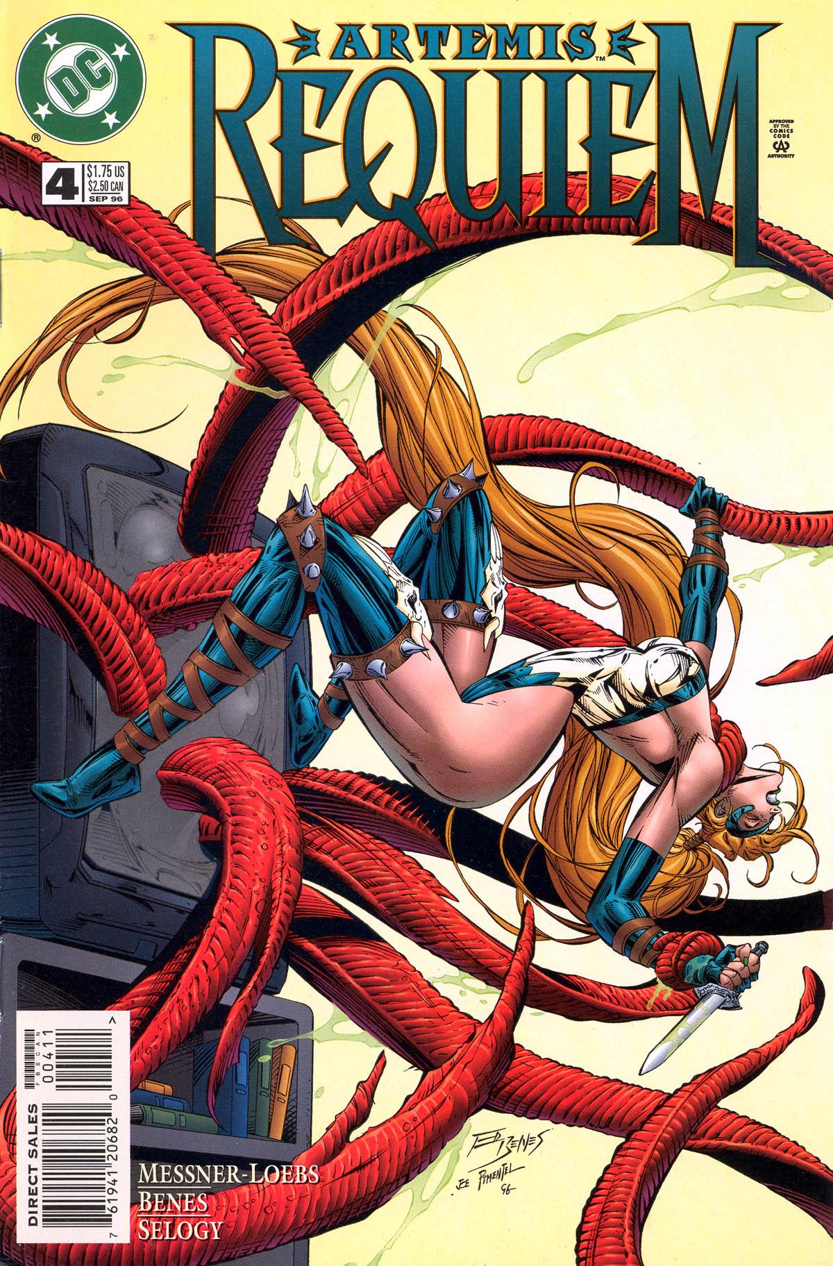 Read online Artemis: Requiem comic -  Issue #4 - 1