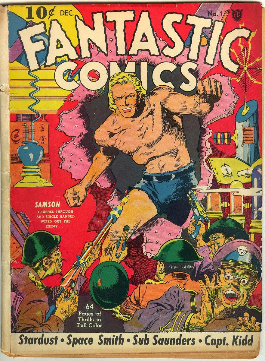 Read online Fantastic Comics comic -  Issue #1 - 2