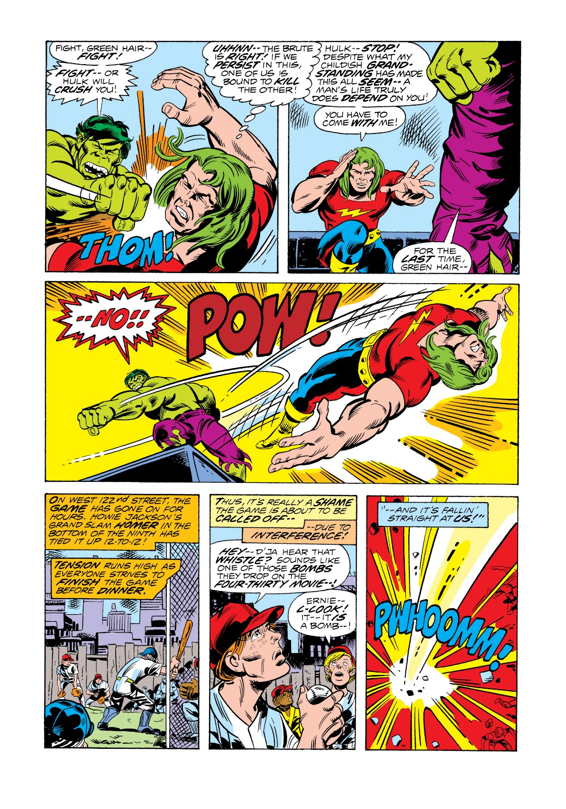 Read online Marvel Masterworks: The Incredible Hulk comic -  Issue # TPB 11 (Part 2) - 94